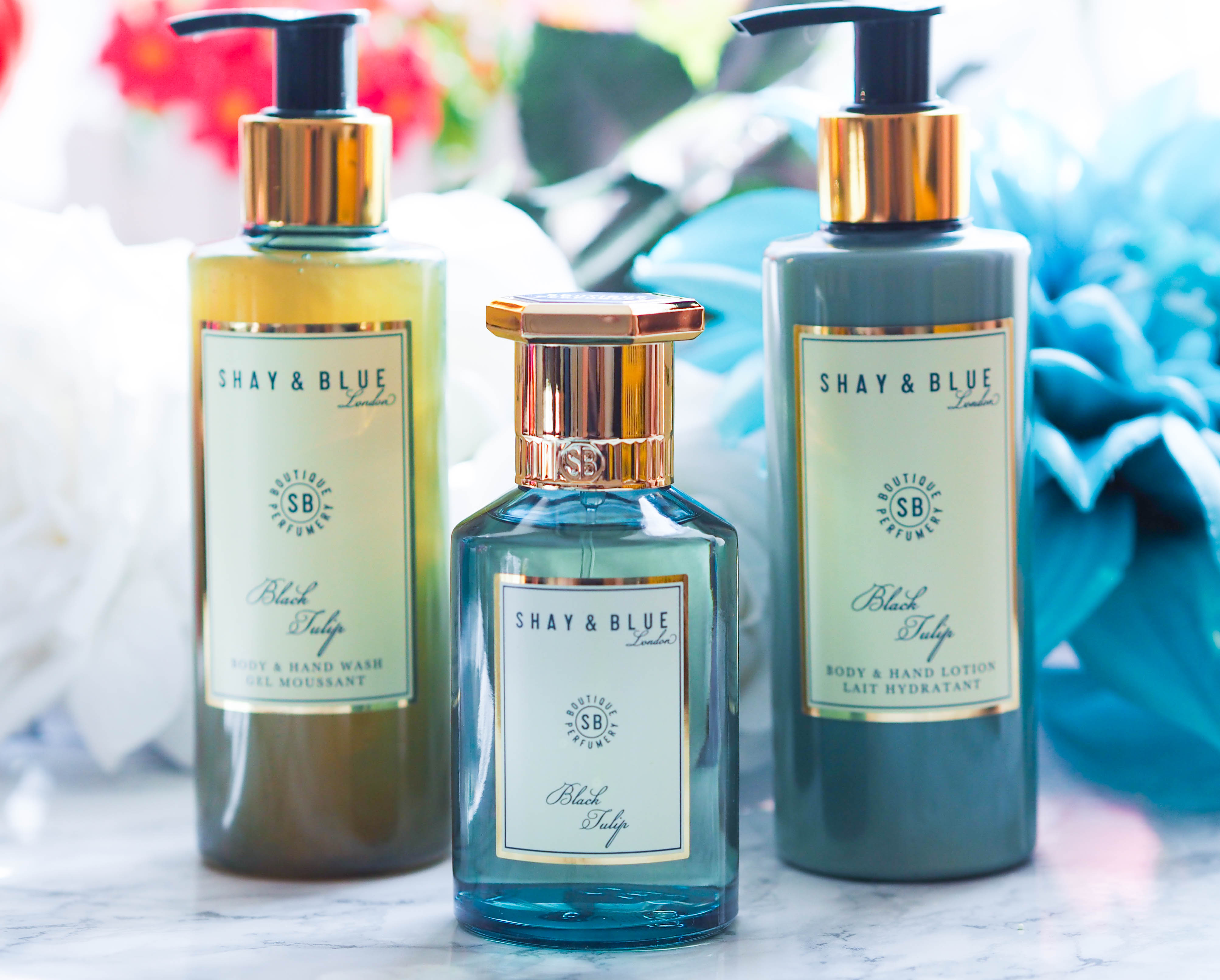 QVC UK TSV Shay & Blue 4 Piece Fragrance Collection