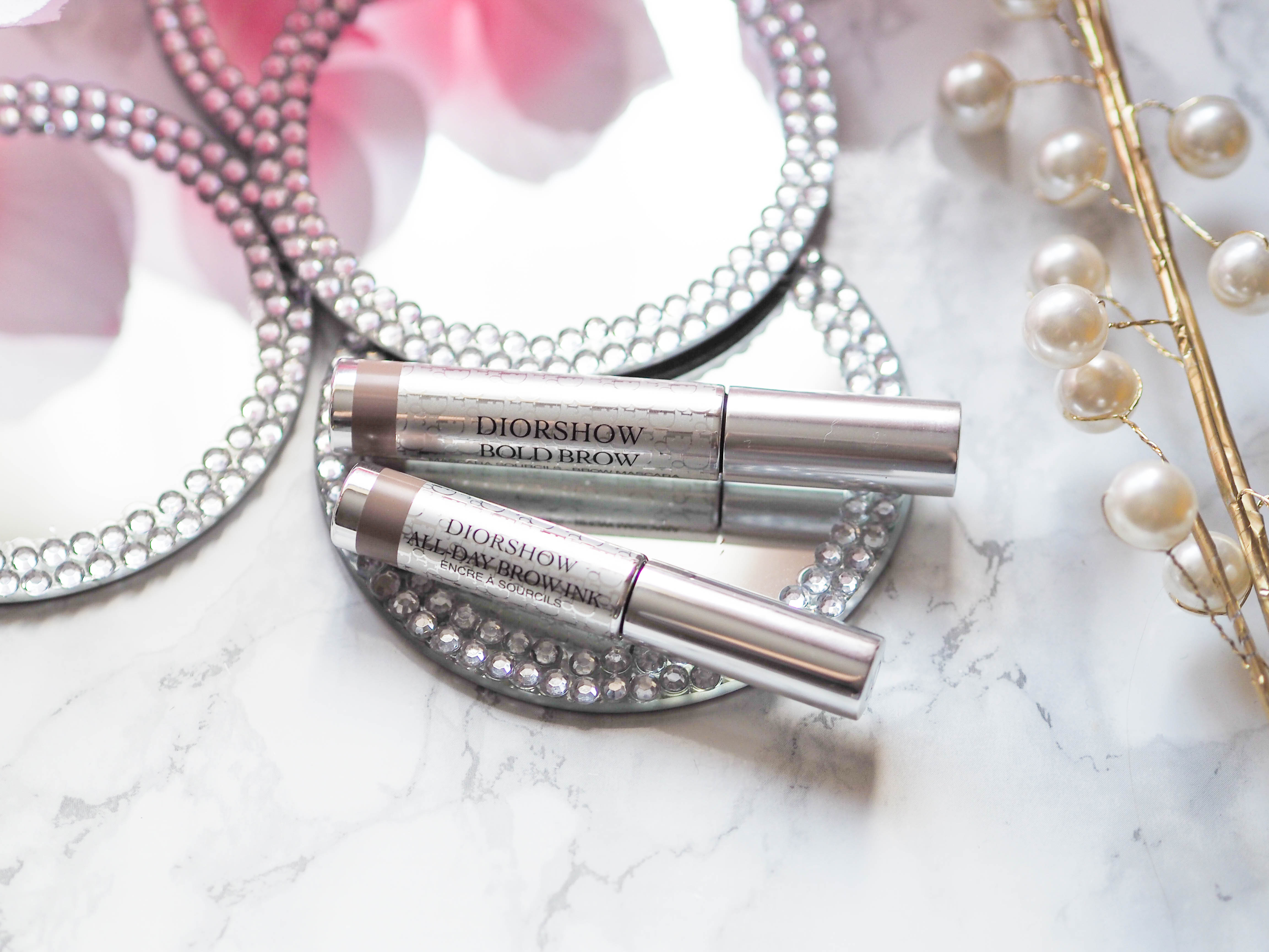 Diorshow All Day brow Ink and Volumizing Mascara Review