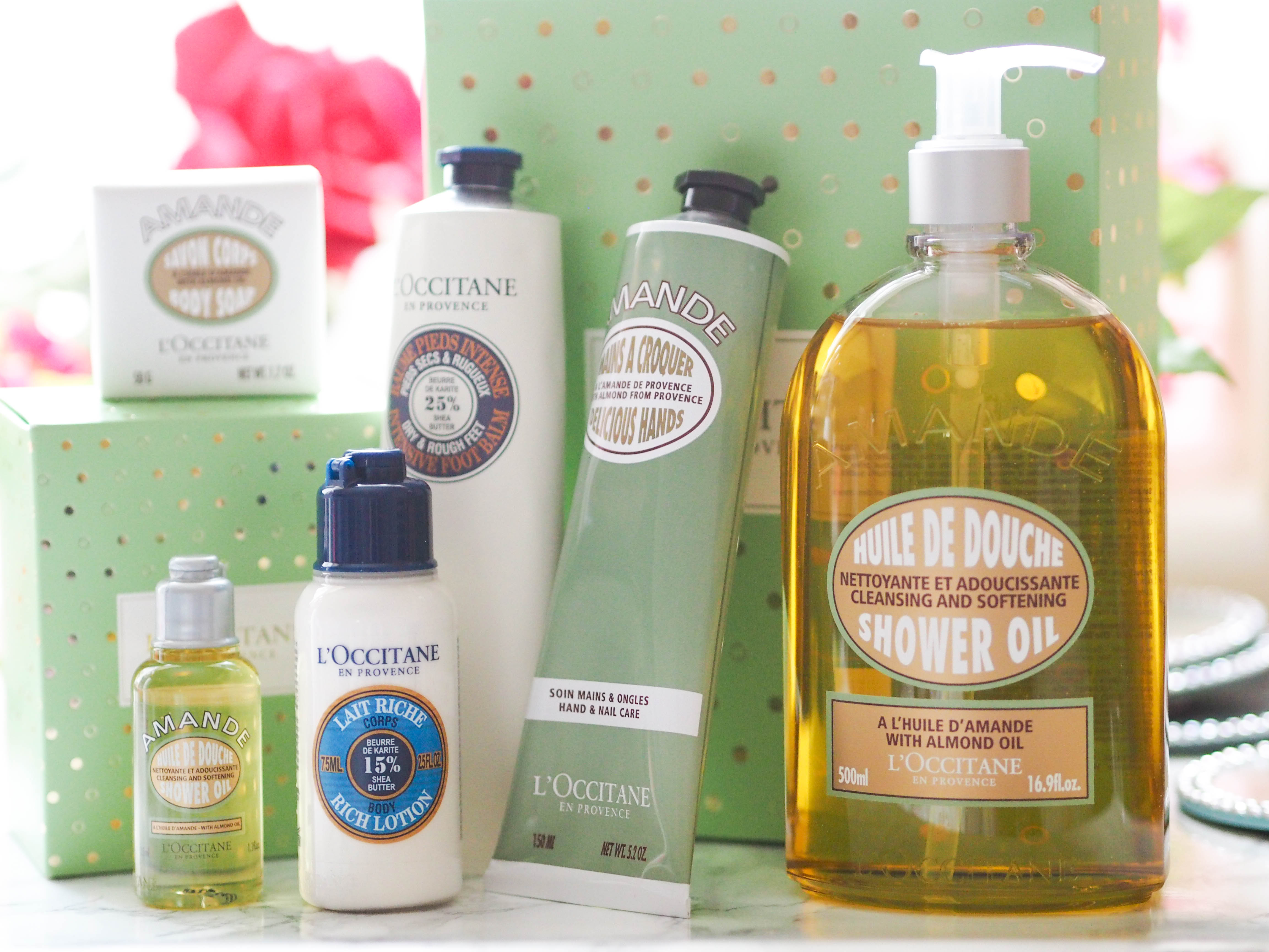 L'Occitane Warm Almond Christmas Collection