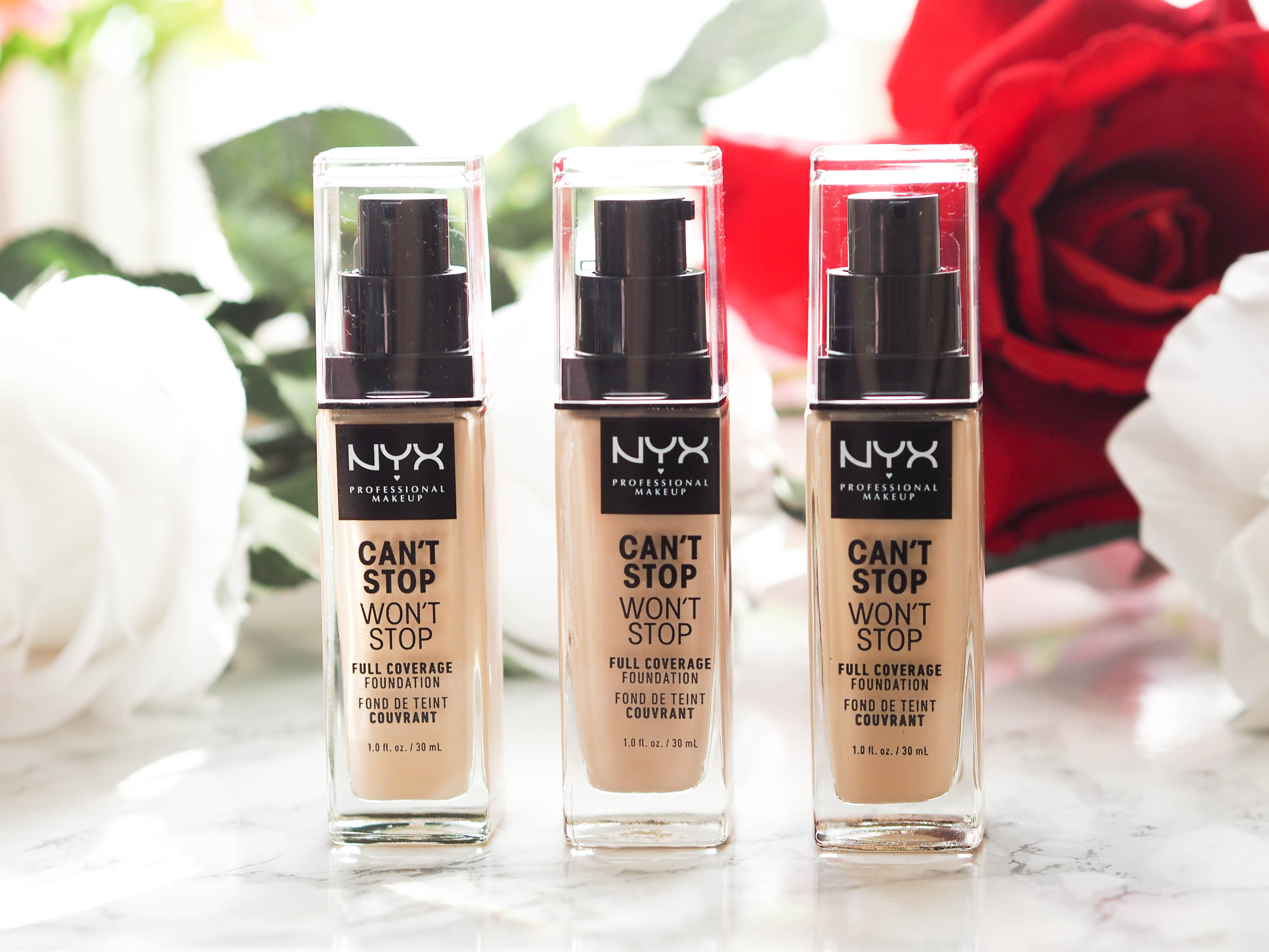 NYX Professional Makeup Can't Stop, Won't Stop Full Coverage Foundation