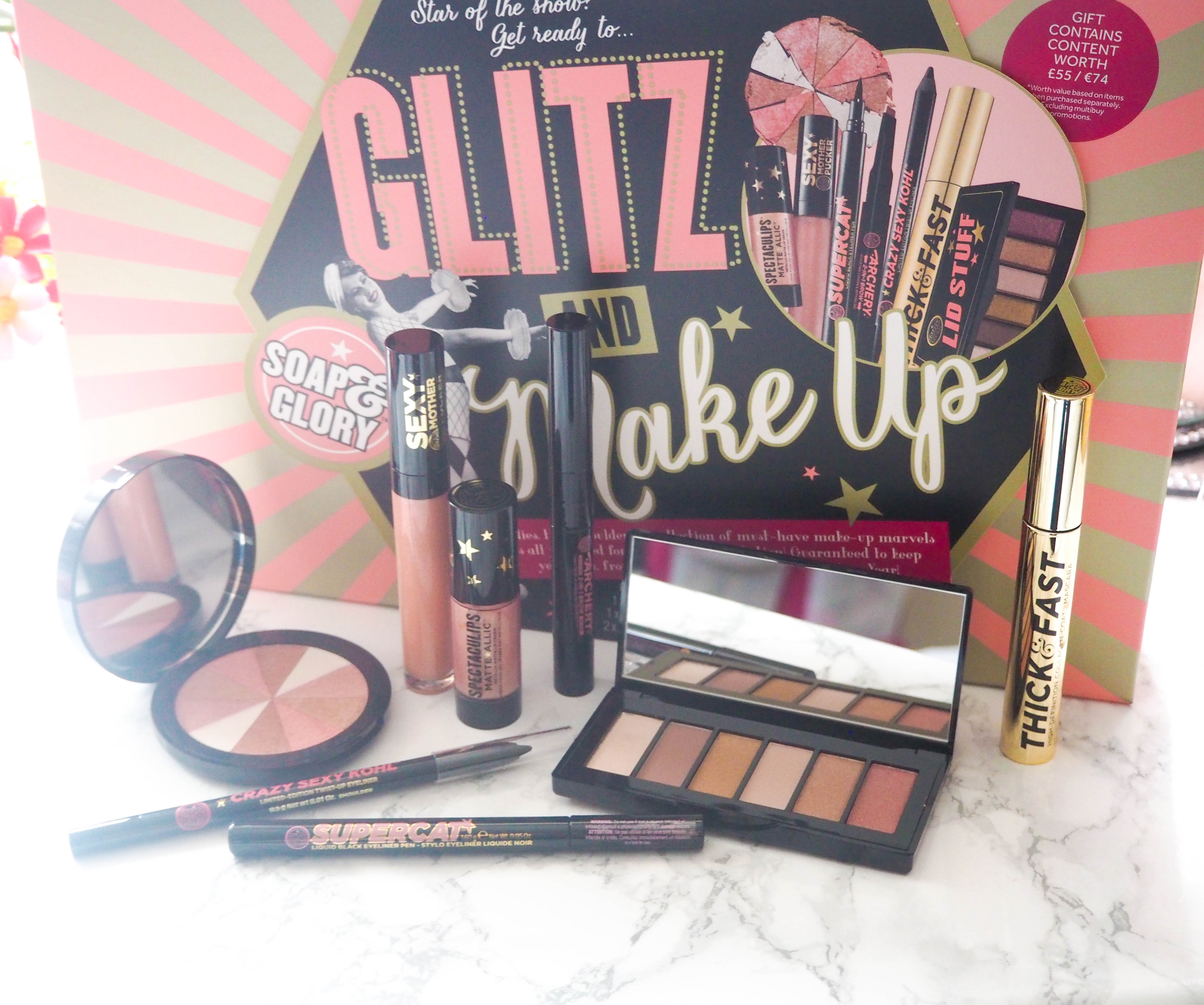 Soap & Glory Glitz and Make Up Gift Set