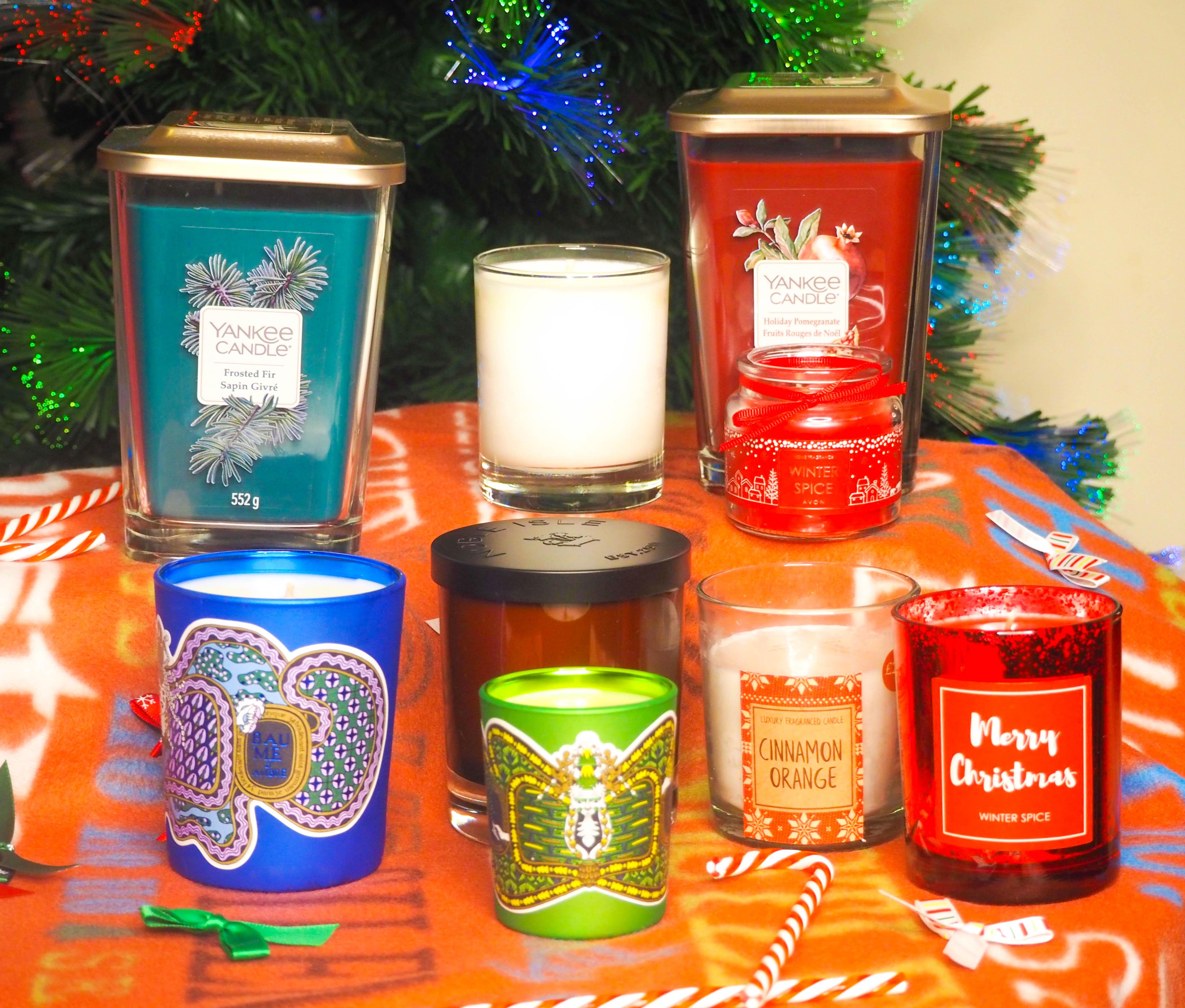 Christmas Candles 2018