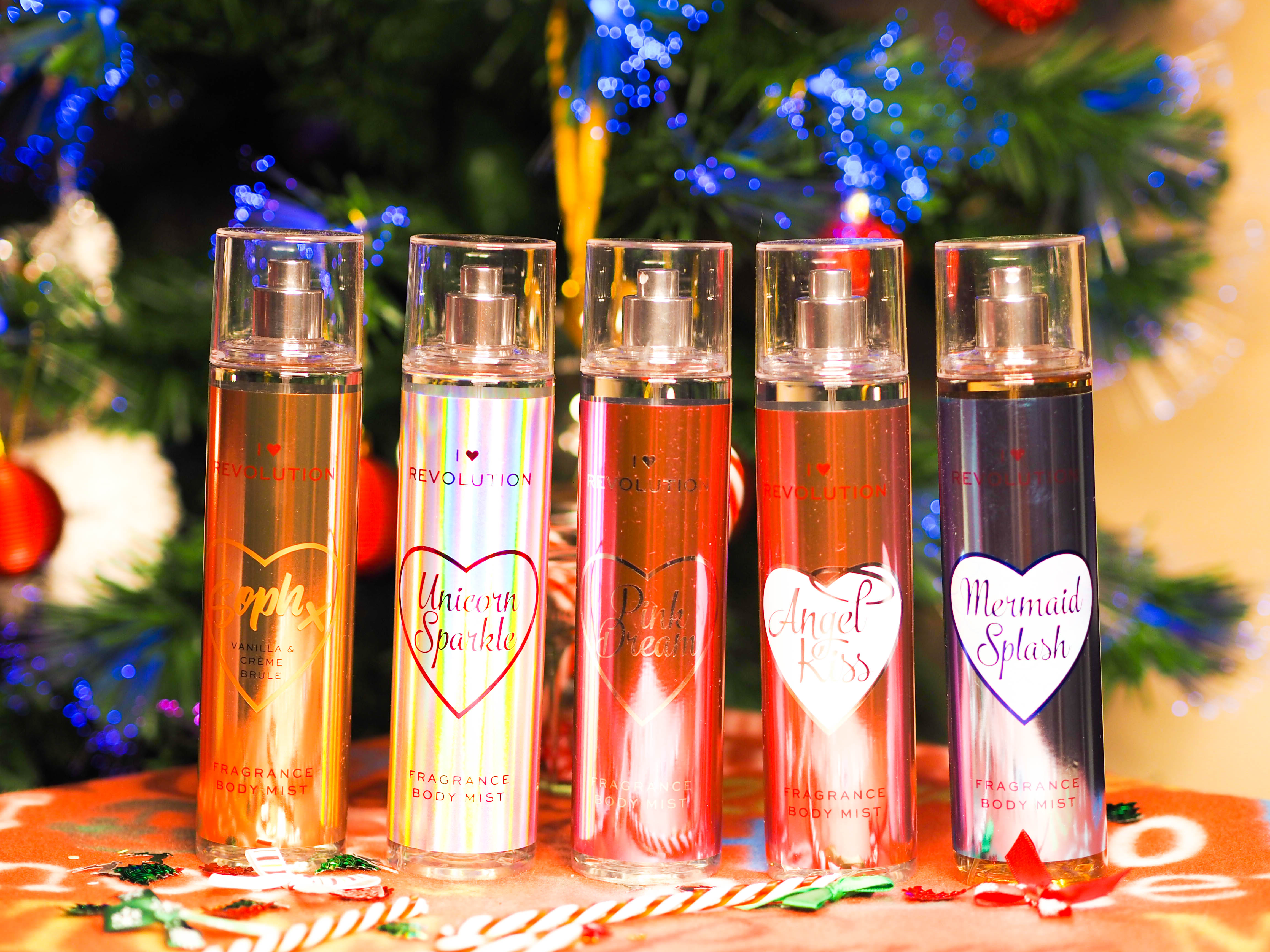 I Heart Body Mists