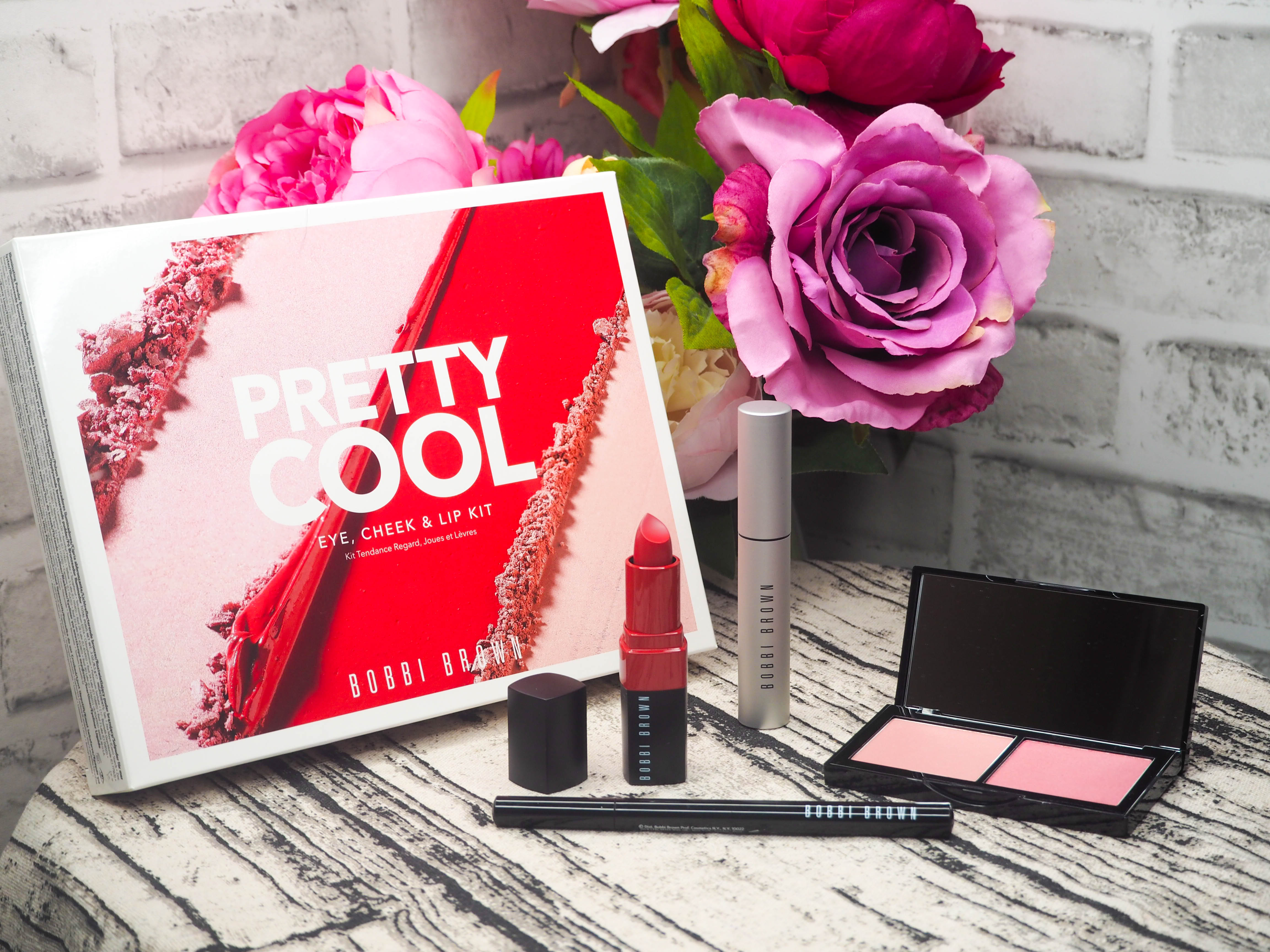 Bobbi Brown 4 Piece Pretty Cool Eye, Cheek and Lip Collection