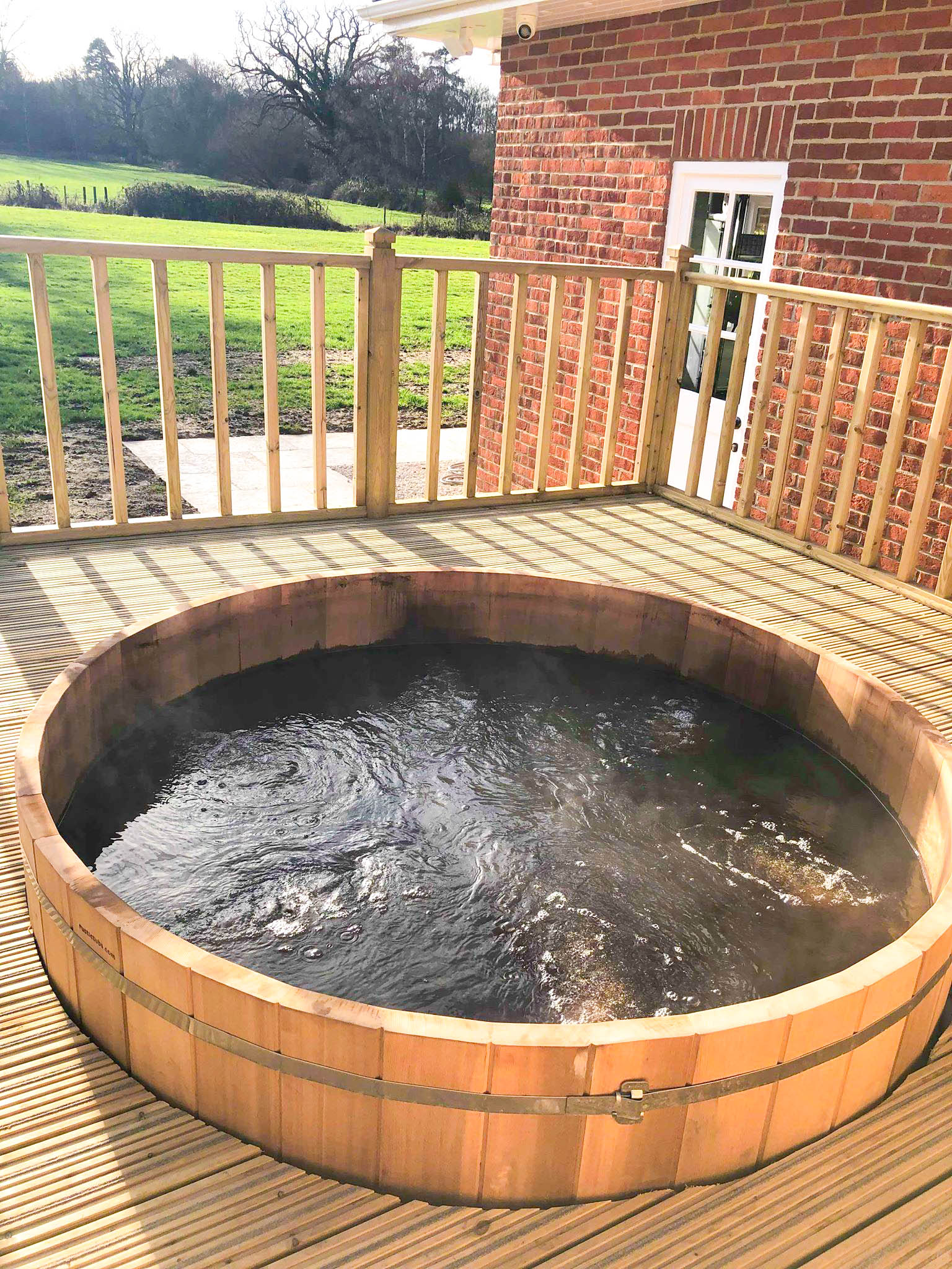 Hot Tub, Park Spa, Warbook House