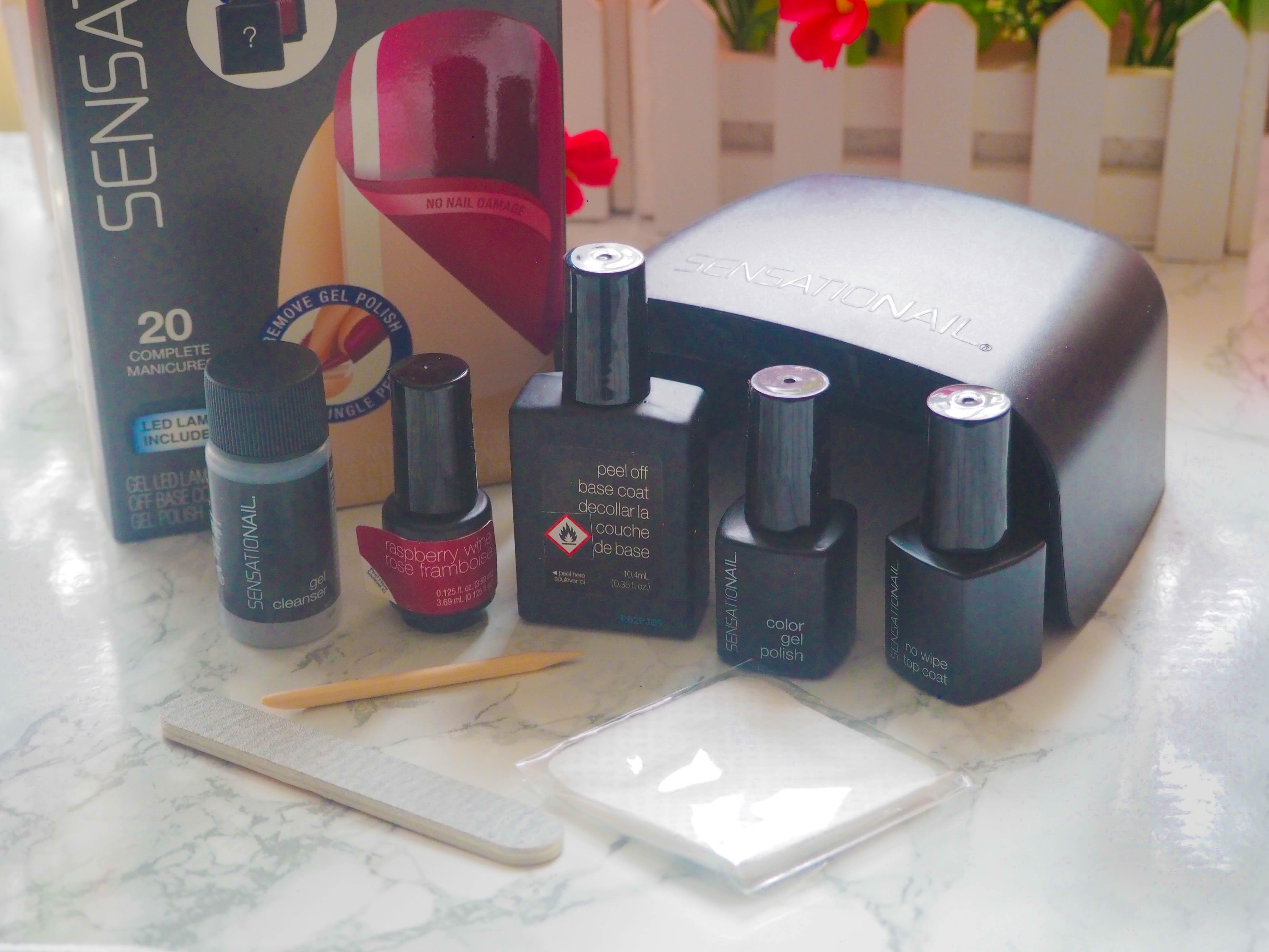 Sensationail Stripgel Peel Off Base Coat Review Beauty Geek Uk