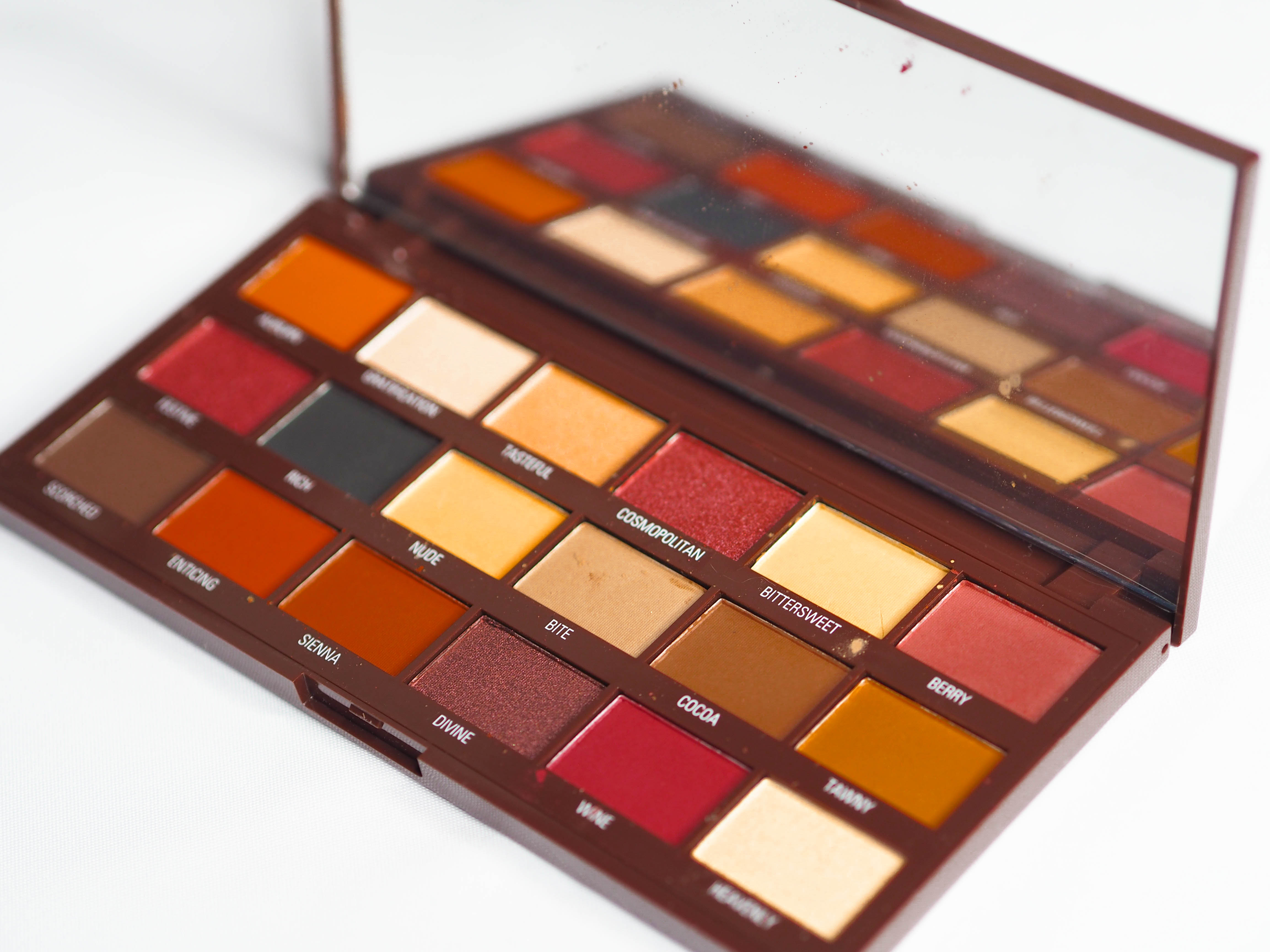 I Heart Revolution Cranberries and Chocolate Palette