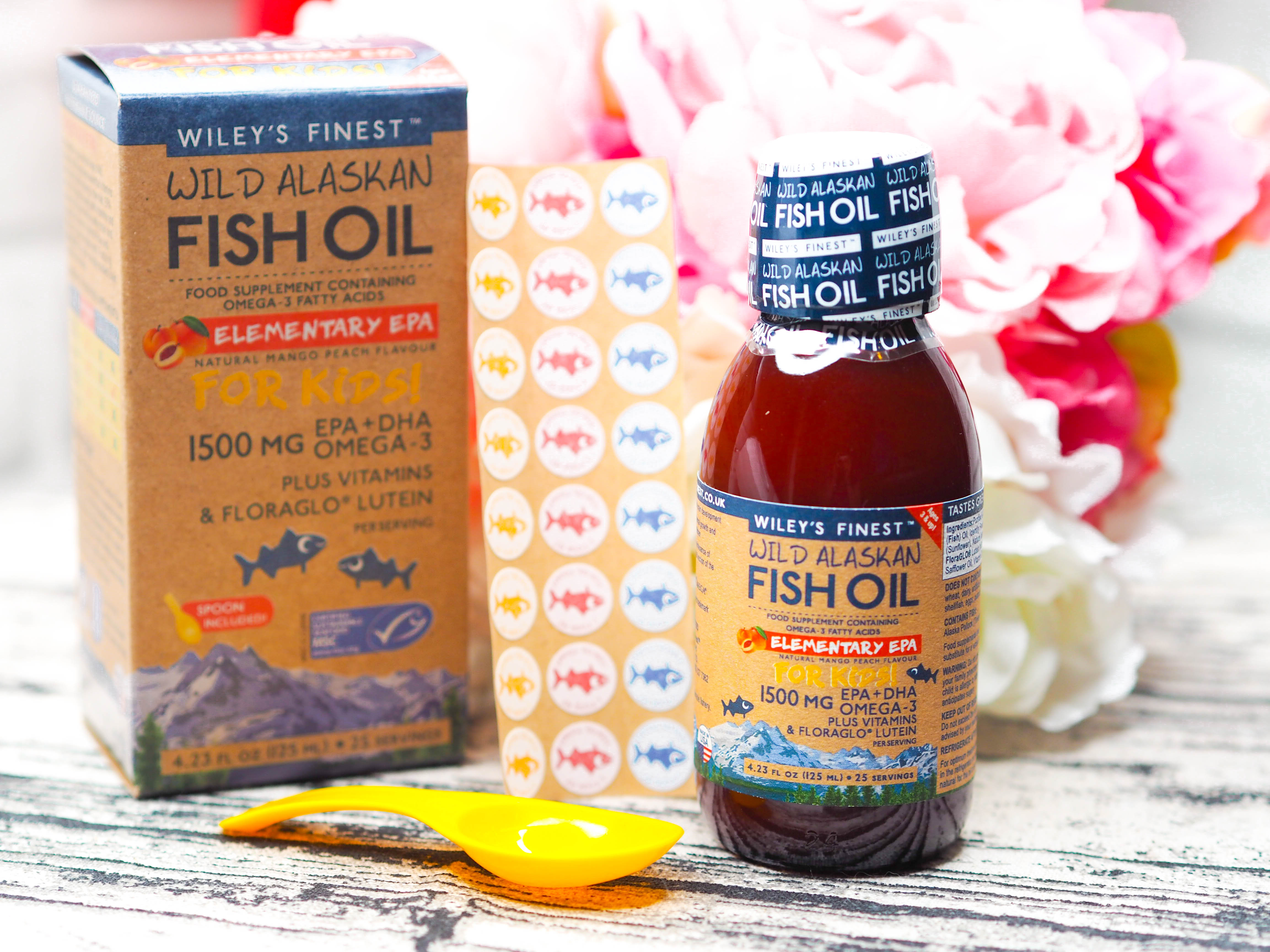 Wiley's Finest Beginner's DHA Wild Alaskan Fish Oil for Children