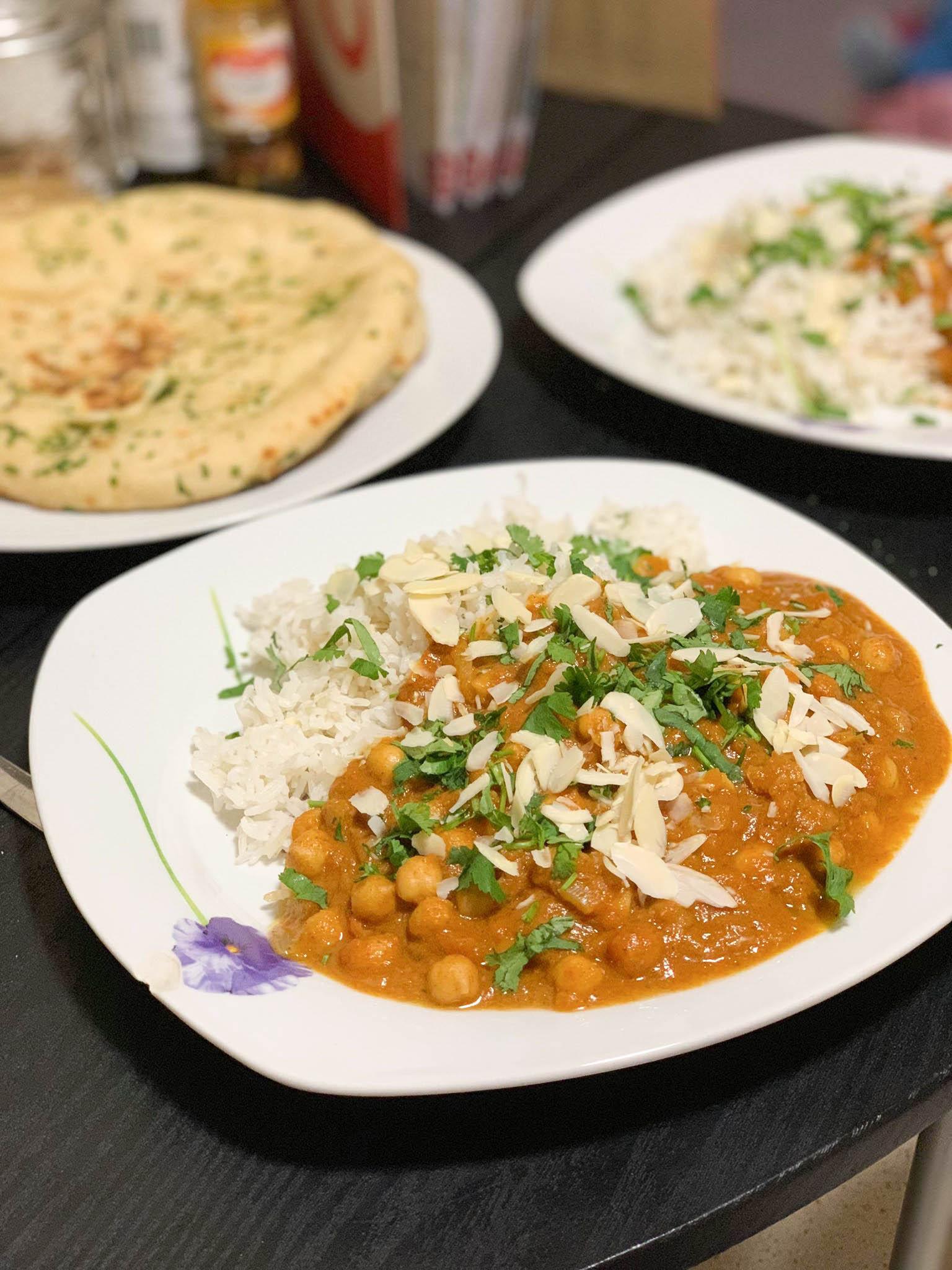 Chickpea Tikkia Masala & Fragrant Rice Recipe