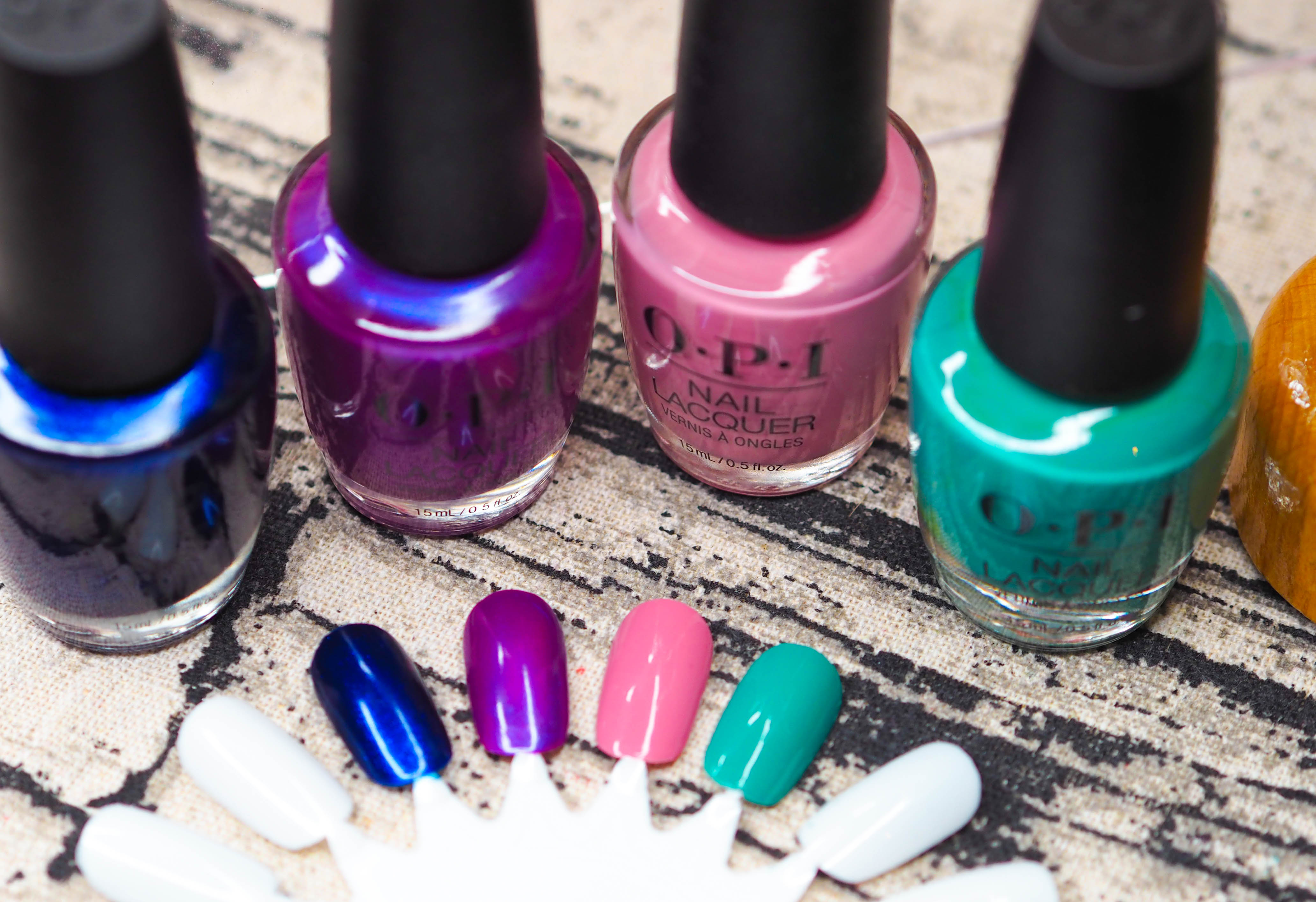 OPI Tokyo Swatches