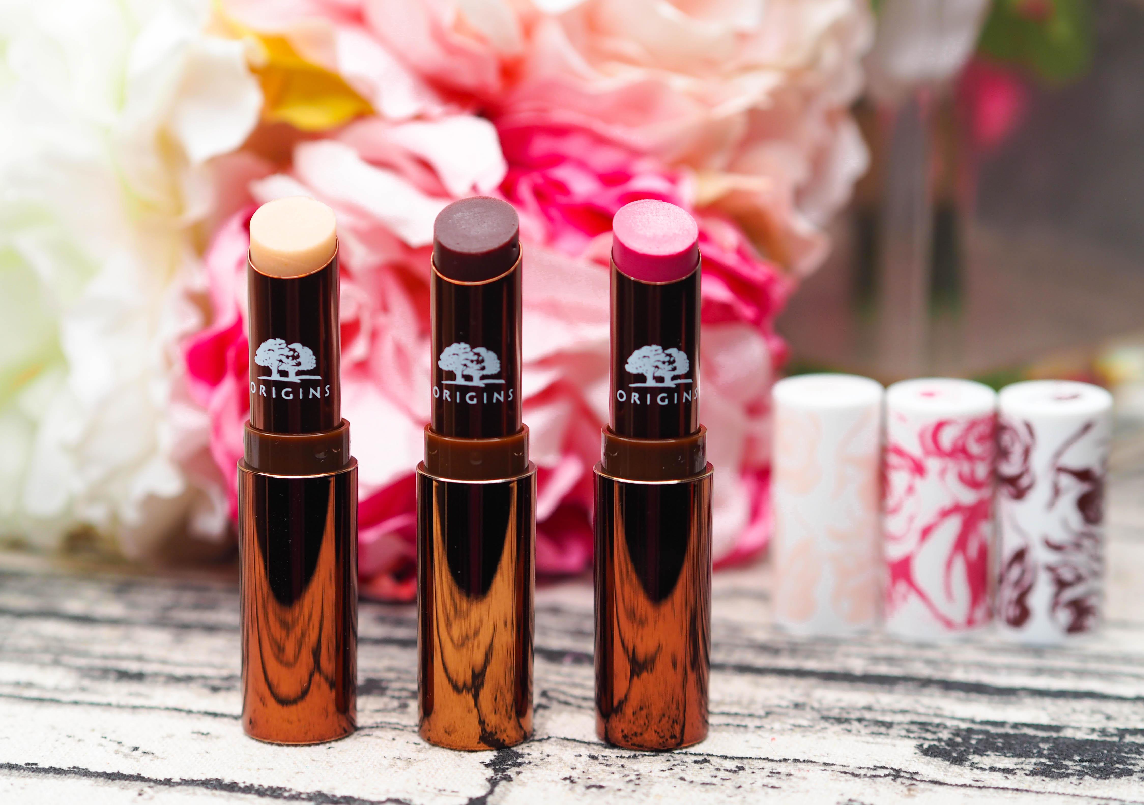 Origins Blooming Sheer Lip Balms