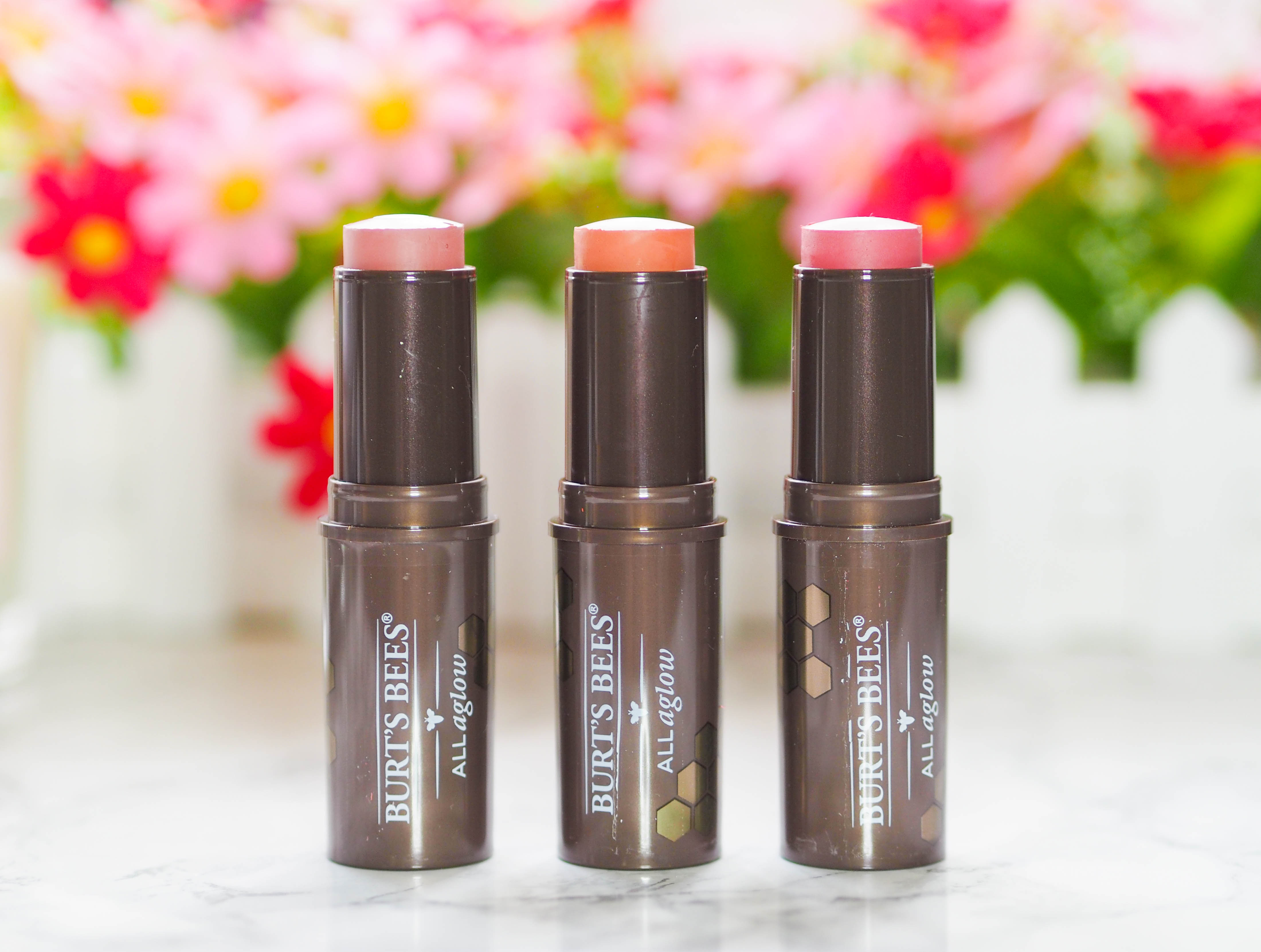 Burt's Bees All Aglow Lip and Cheek Sticks