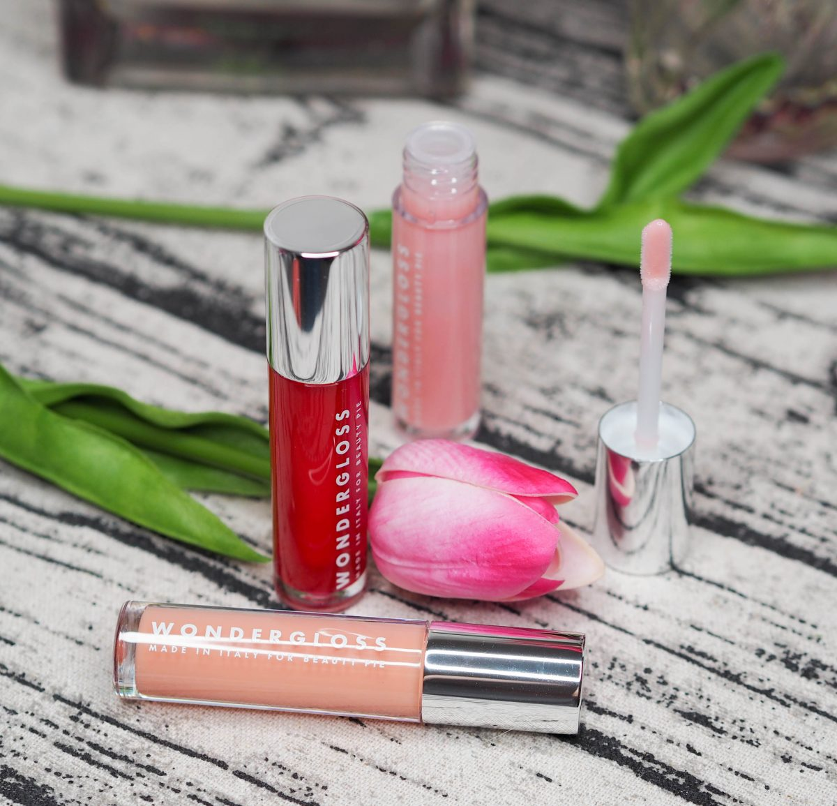 Beauty Pie Wondergloss Lip Oil Trio