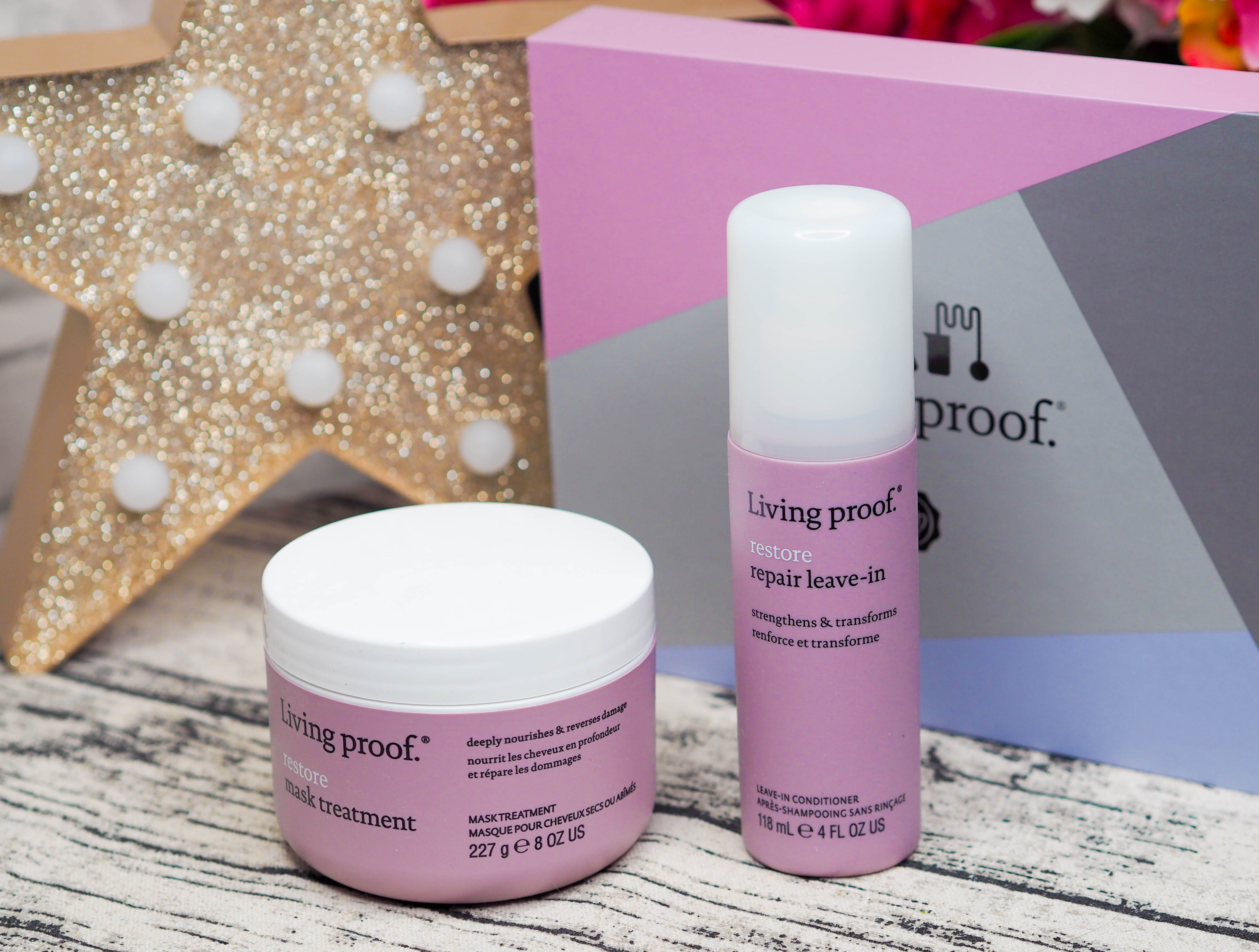 Glossybox x Living Proof Limited Edition Box