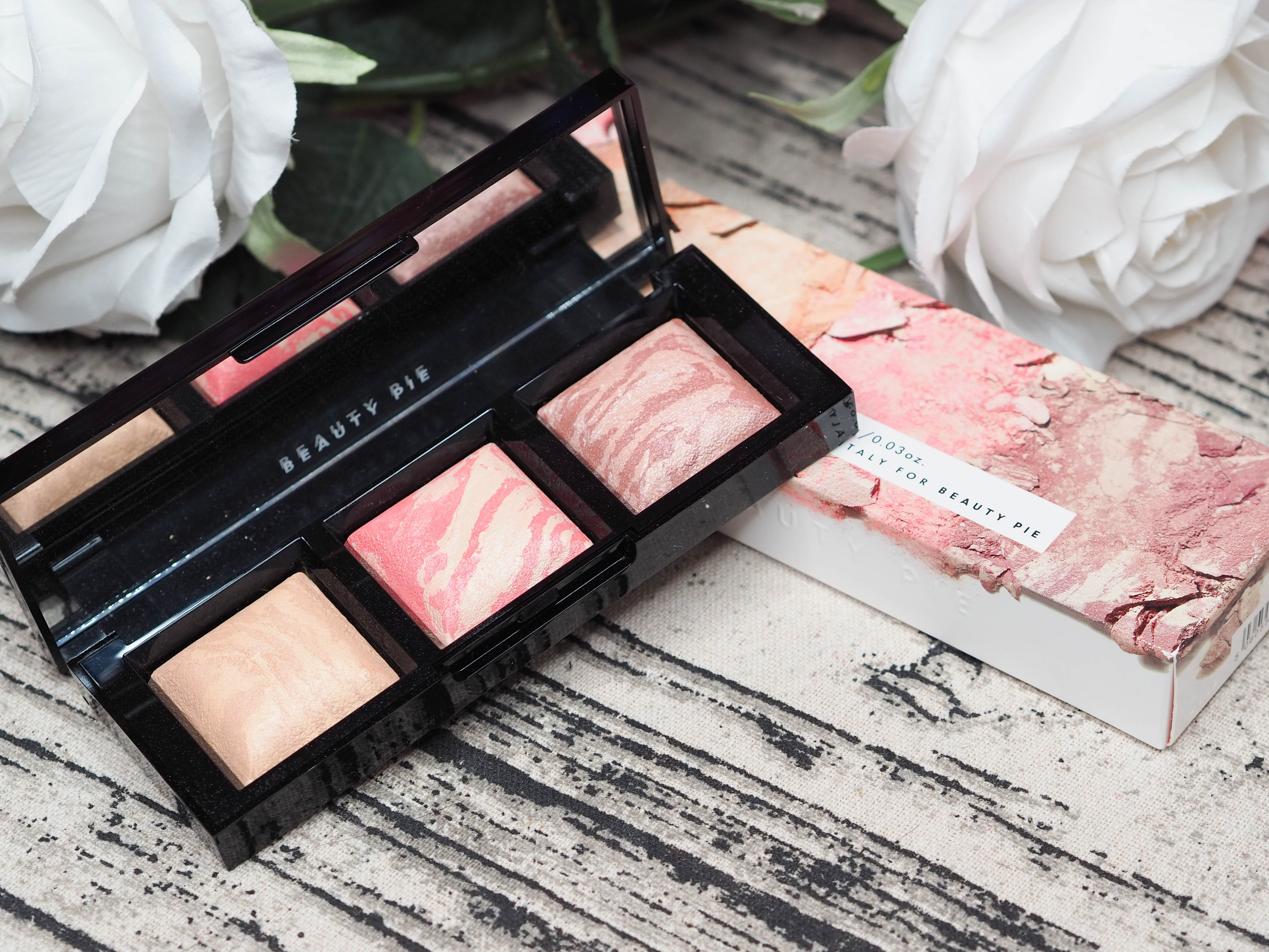 Beauty Pie Triple Beauty Good Lighting Luminous Blush Trio