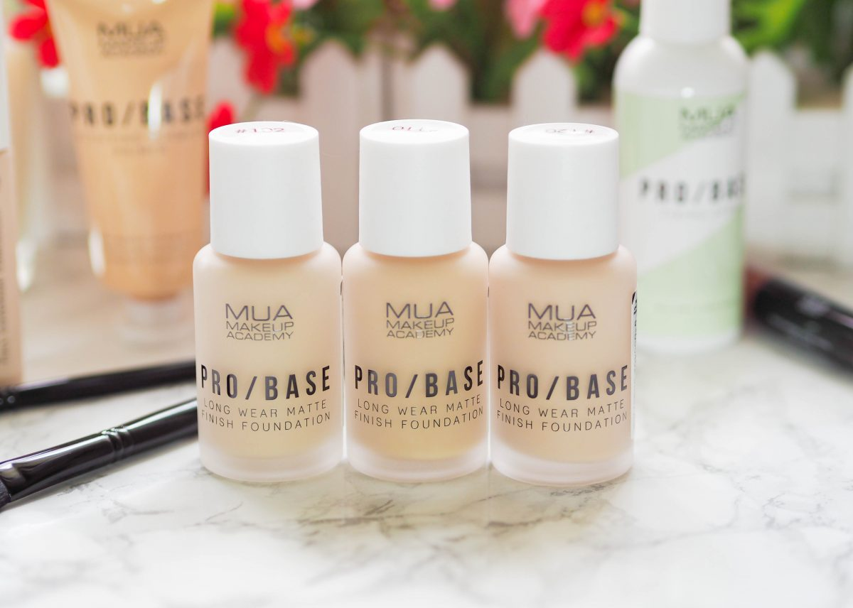 MUA Pro Base Long Wear Matte Finish Foundation