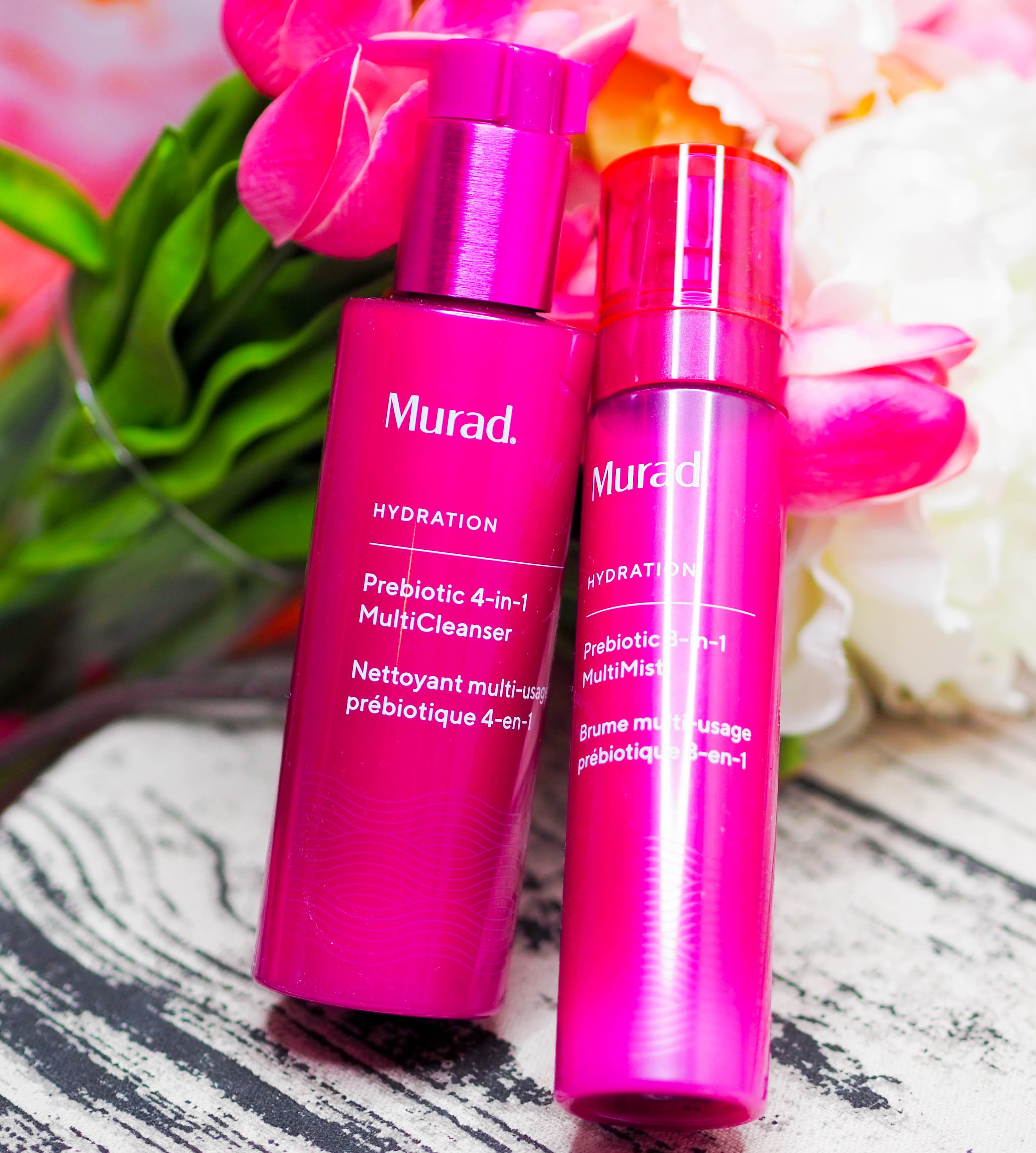 Murad Prebiotic 4-in-1 Multicleanser and Prebiotic 3-in-1 Multimist