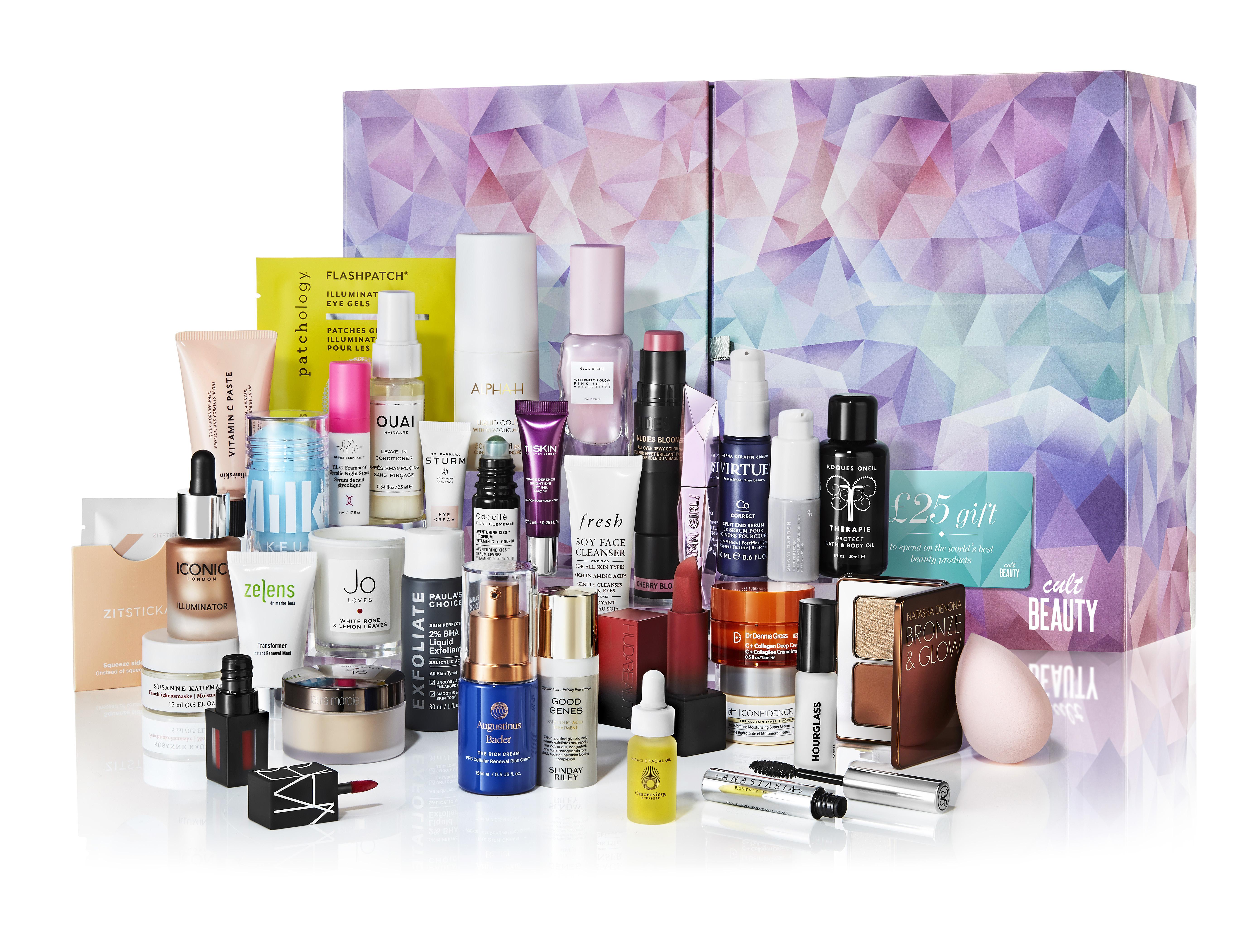 Cult Beauty Advent Calendar Contents