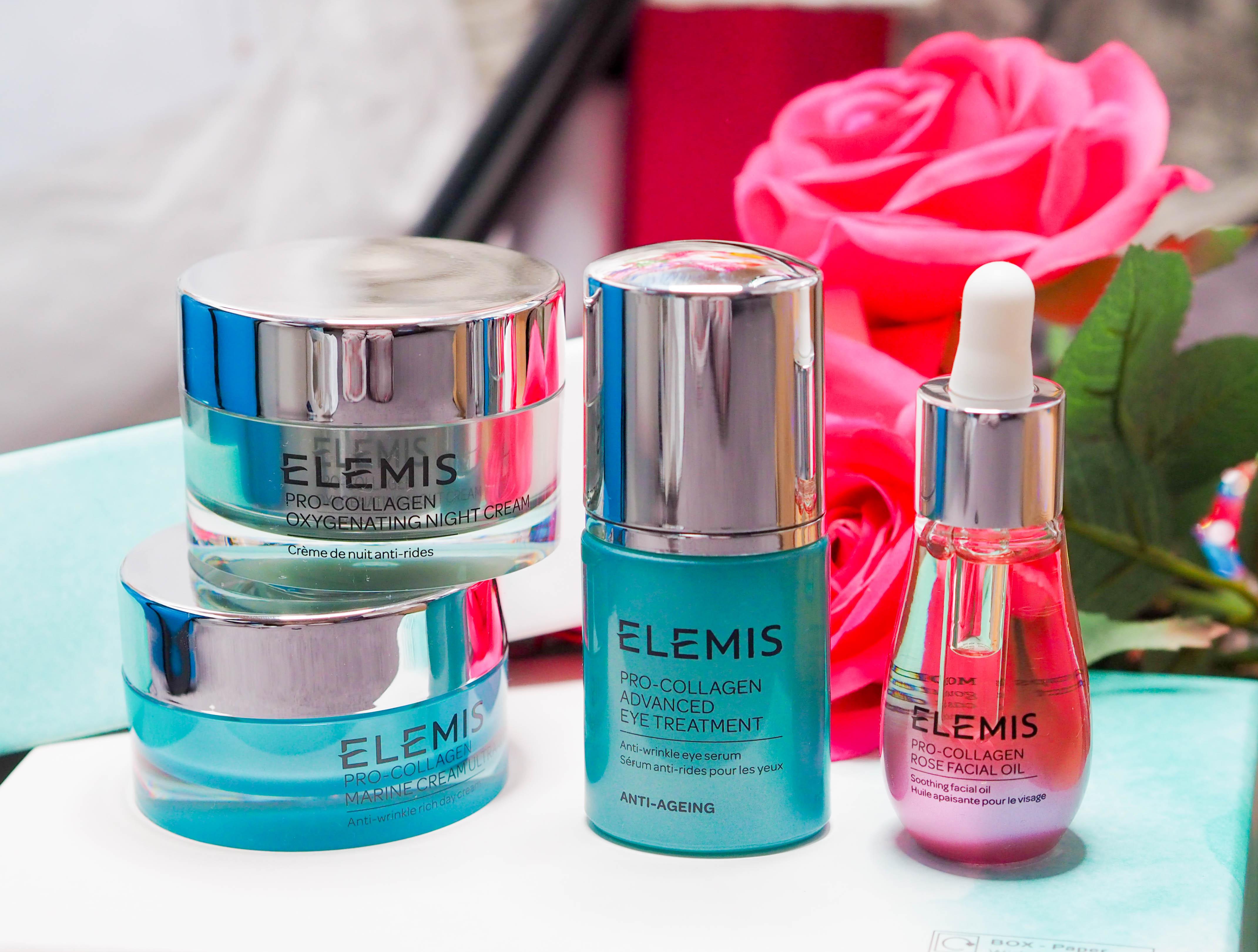 QVC UK TSV Elemis Pro-Collagen Skincare Secrets