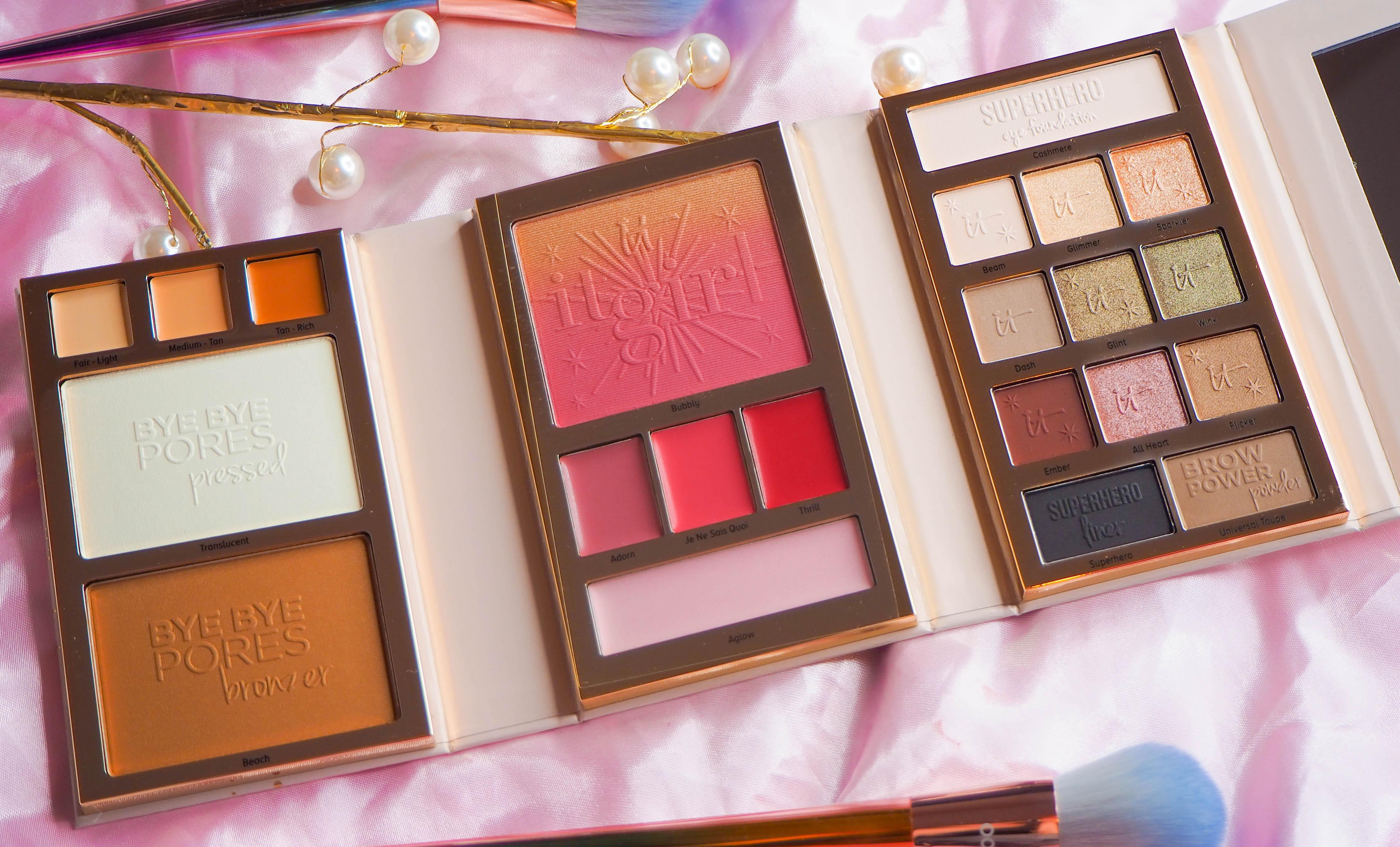 It Cosmetics It Girl Beauty Book Open