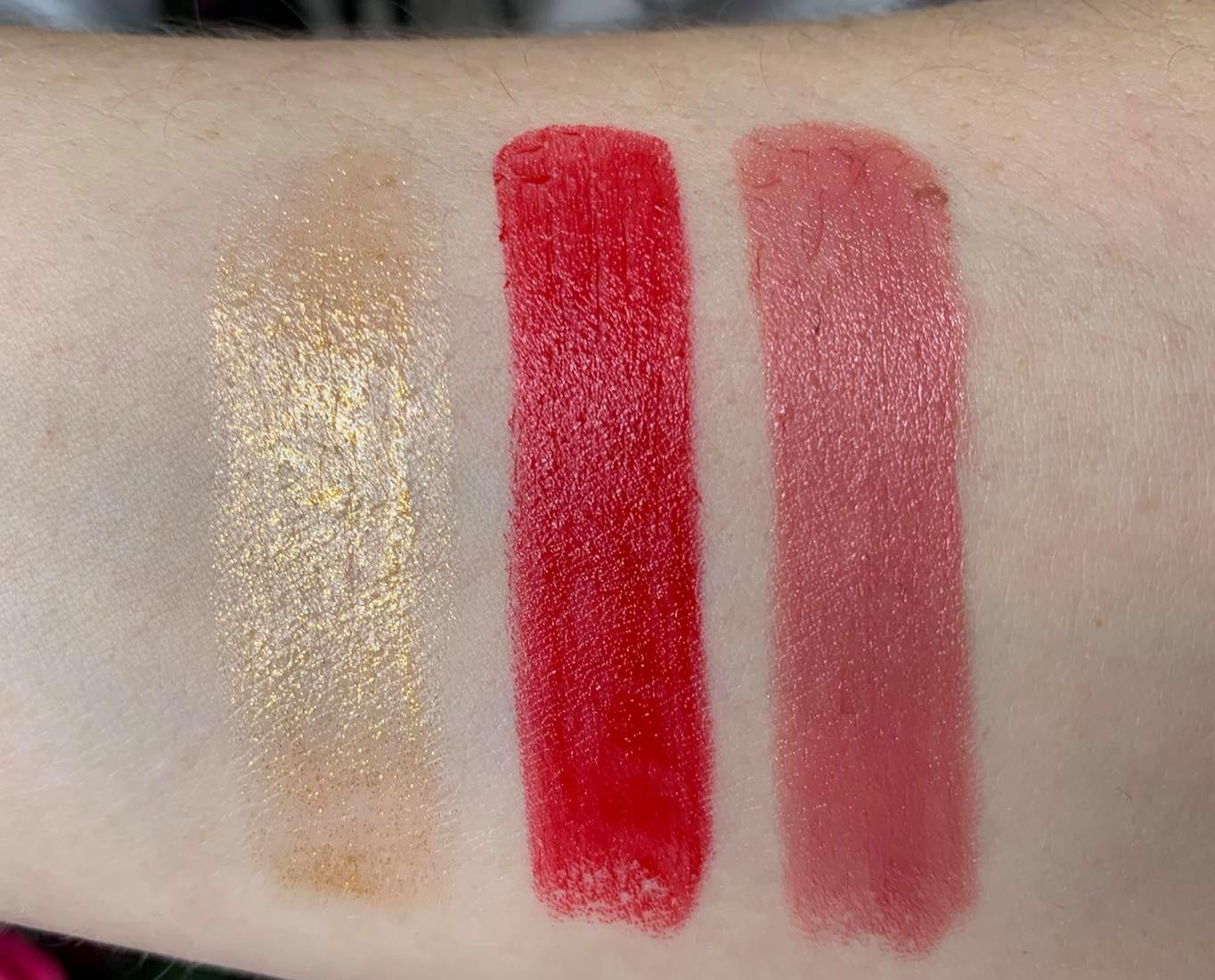 Lancome L'Absolu Rouge Limited Edition Swatches