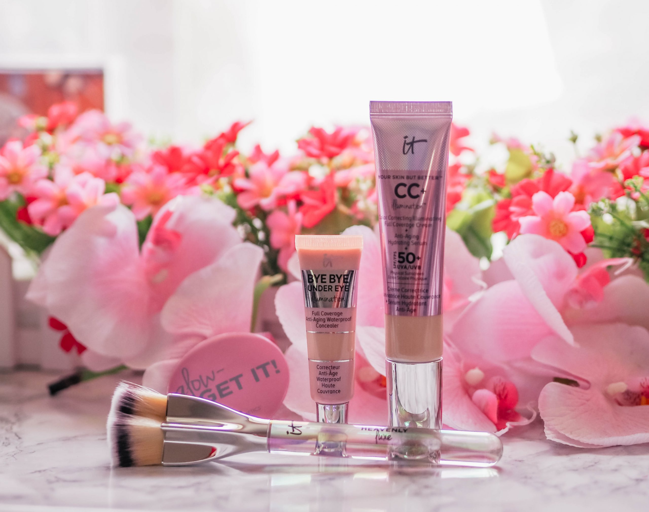 QVC UK TSV IT Cosmetics 3 Piece Superstar Glow Collection