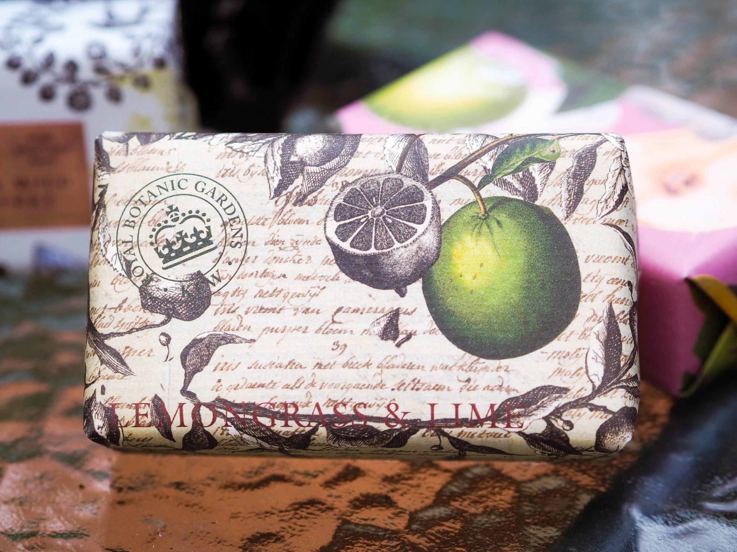 English Soap Company Lemongrass and Lime Soap Bar