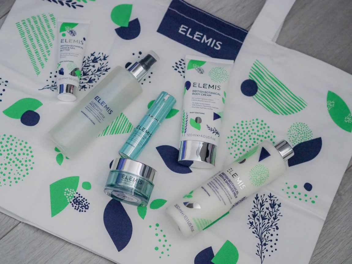 QVC UK TSV: Elemis 6-Piece Pro-Collagen & British Botanical Skin Firming Collection