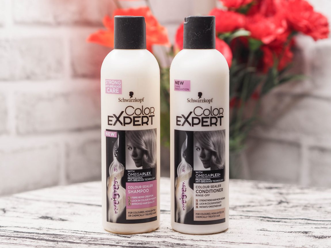 Schwarzkopf Color Expert Color Sealer Shampoo, Conditioner and Treatment