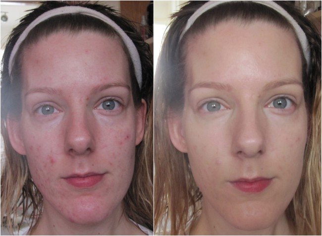 Before and After Bourjois BB Cream Compact Foundation