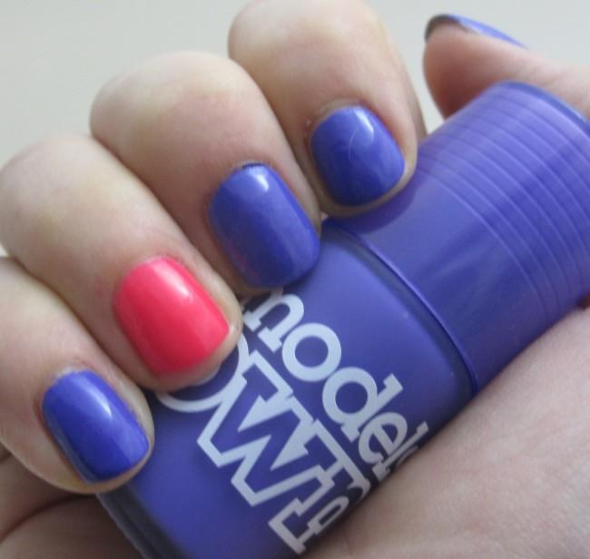 Models Own Ice Neon Pukka Purple