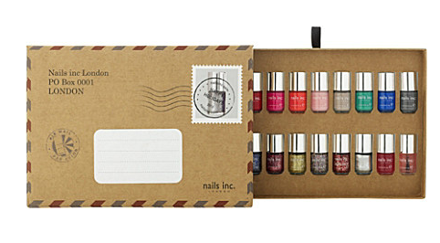 Nails Inc Message in a Manicure Nail Polish set 45