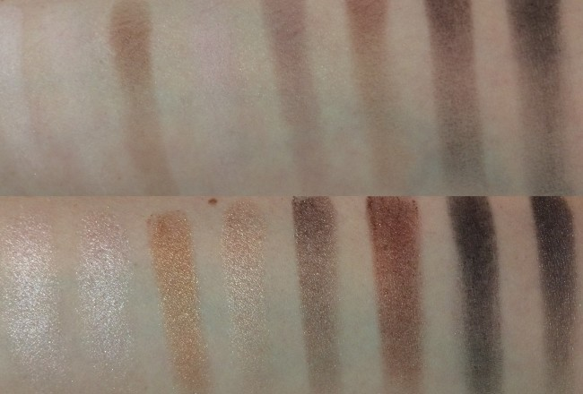Makeup Revolution Iconic Pro 1 Palette Swatches