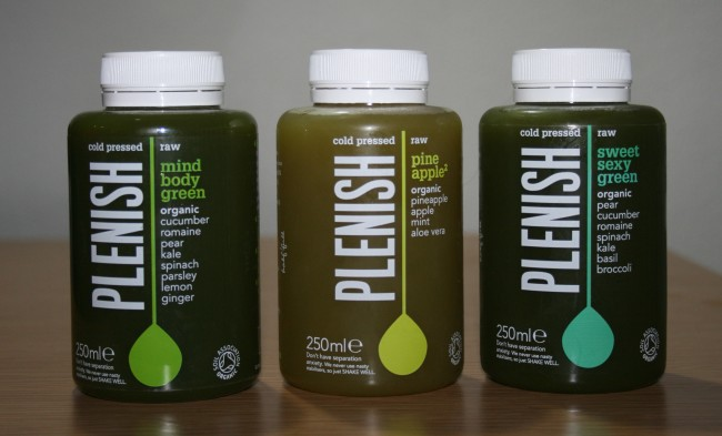 Plenish Cold Pressed Juices Green Review
