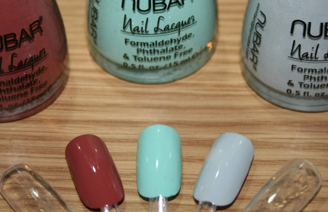 NUBAR POP COLLECTION Swatches