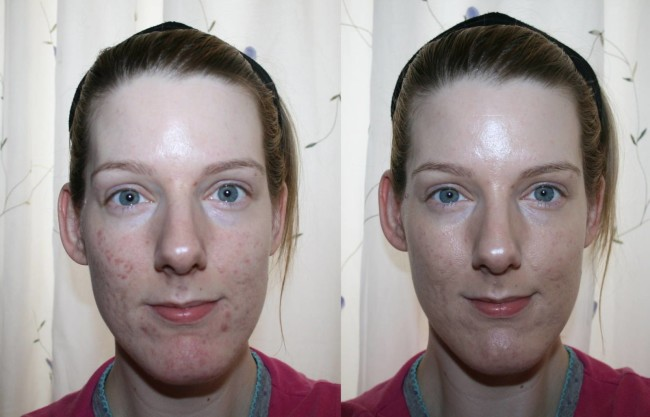 Pixi Illuminating Tint & Conceal Before and After