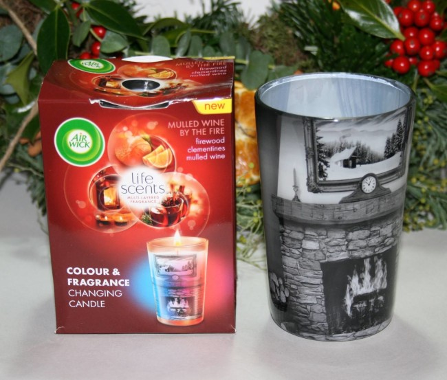 Air Wick Mulled Wine by the Fire Candle