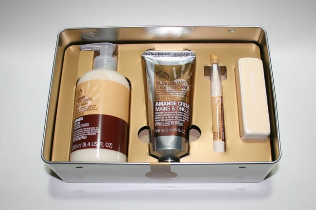 The Body Shop Almond Hand & Nail Expert Set Review