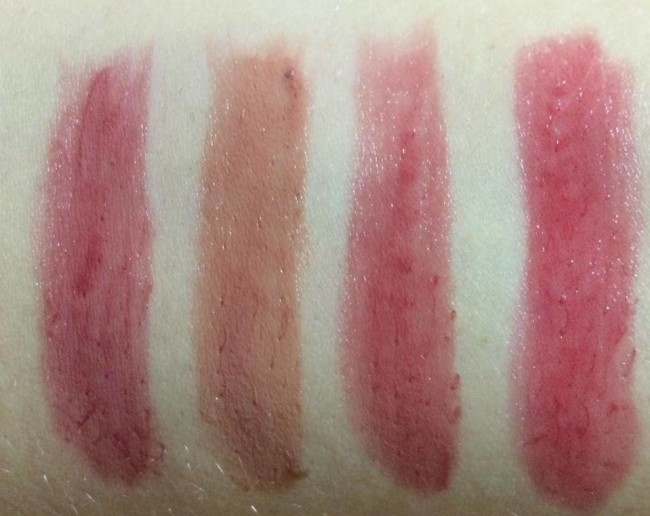 tarte Amazonian Clay Lip Butter Collection Swatches