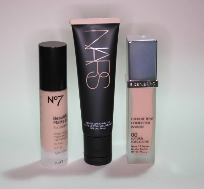 Three new foundations nars boots no7 eisenberg