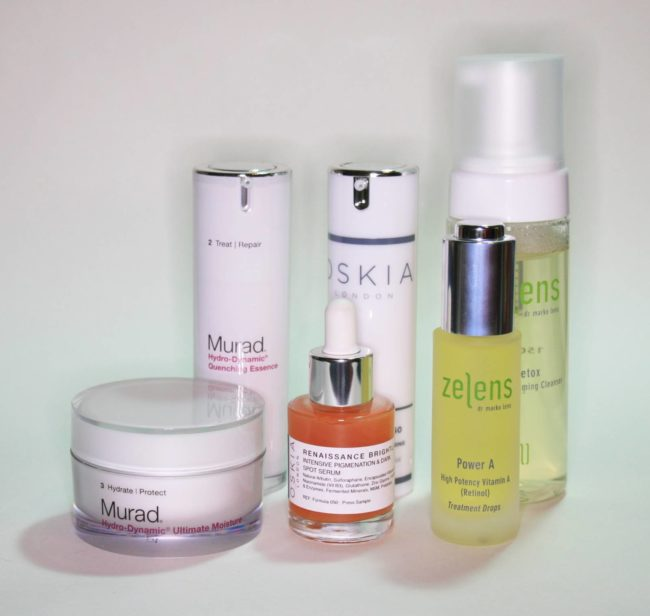 New Skincare from Murad, Oskia and Zelens