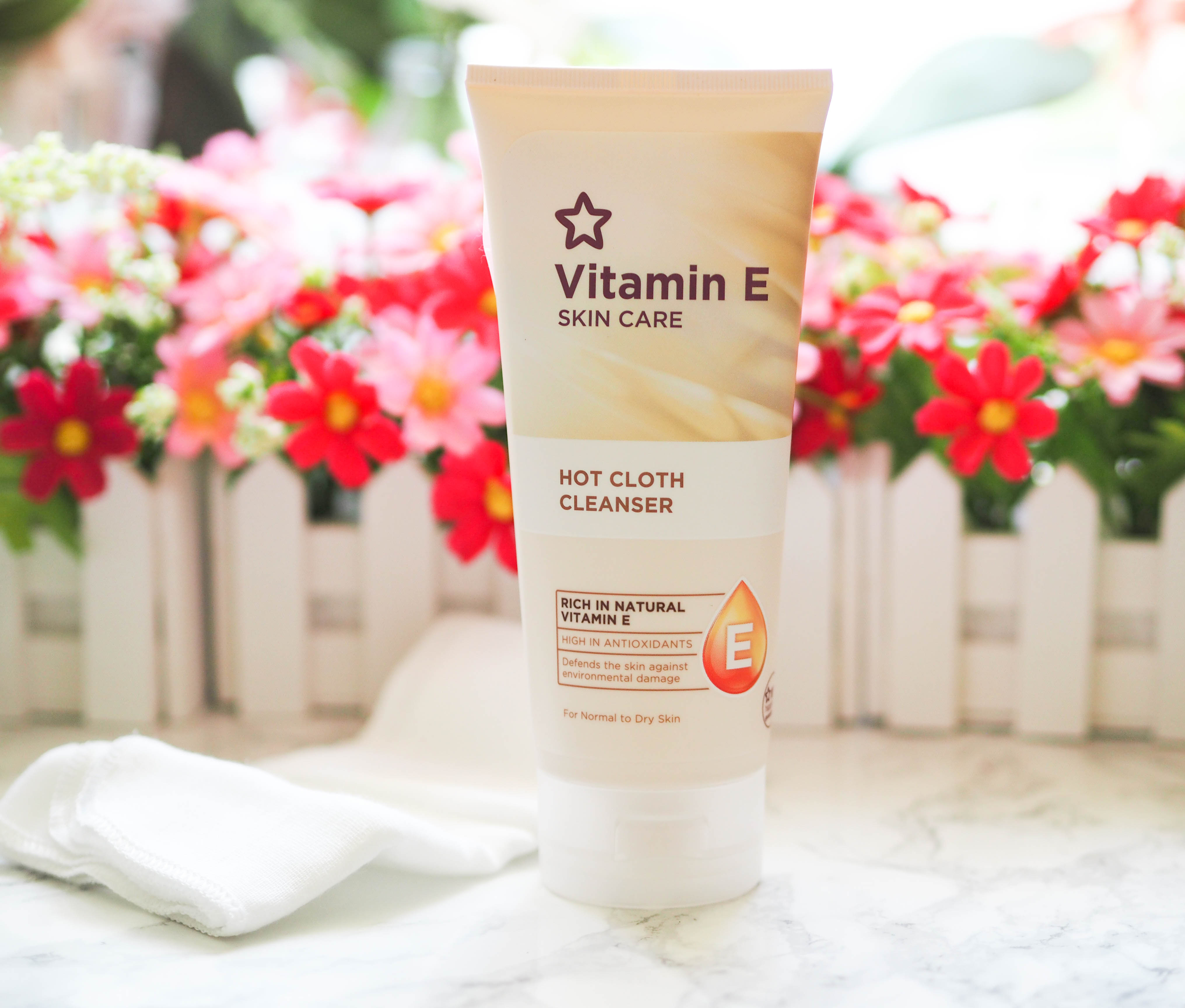Superdrug Vitamin E Hot Cloth Cleanser Review