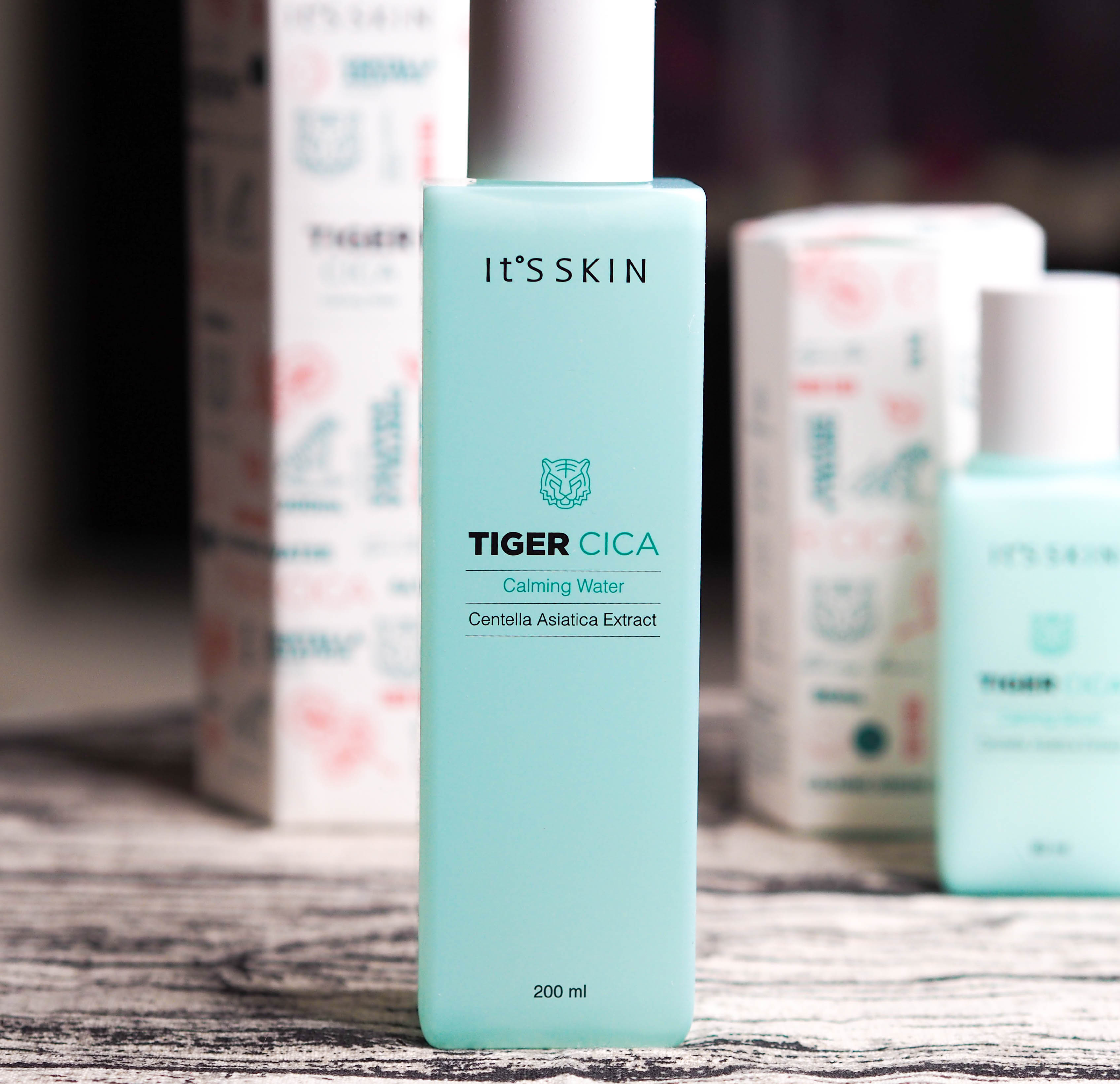 It's Skin Tiger Cica Calming Cleansing Water Review