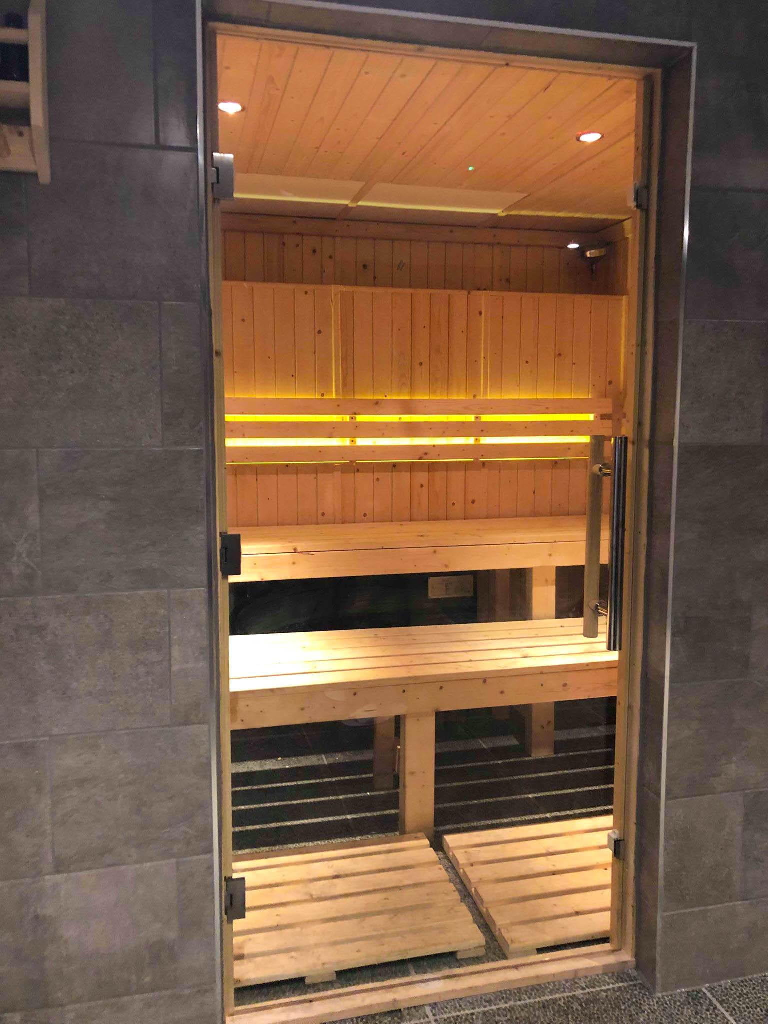 Sauna, Park Spa, Warbrook House