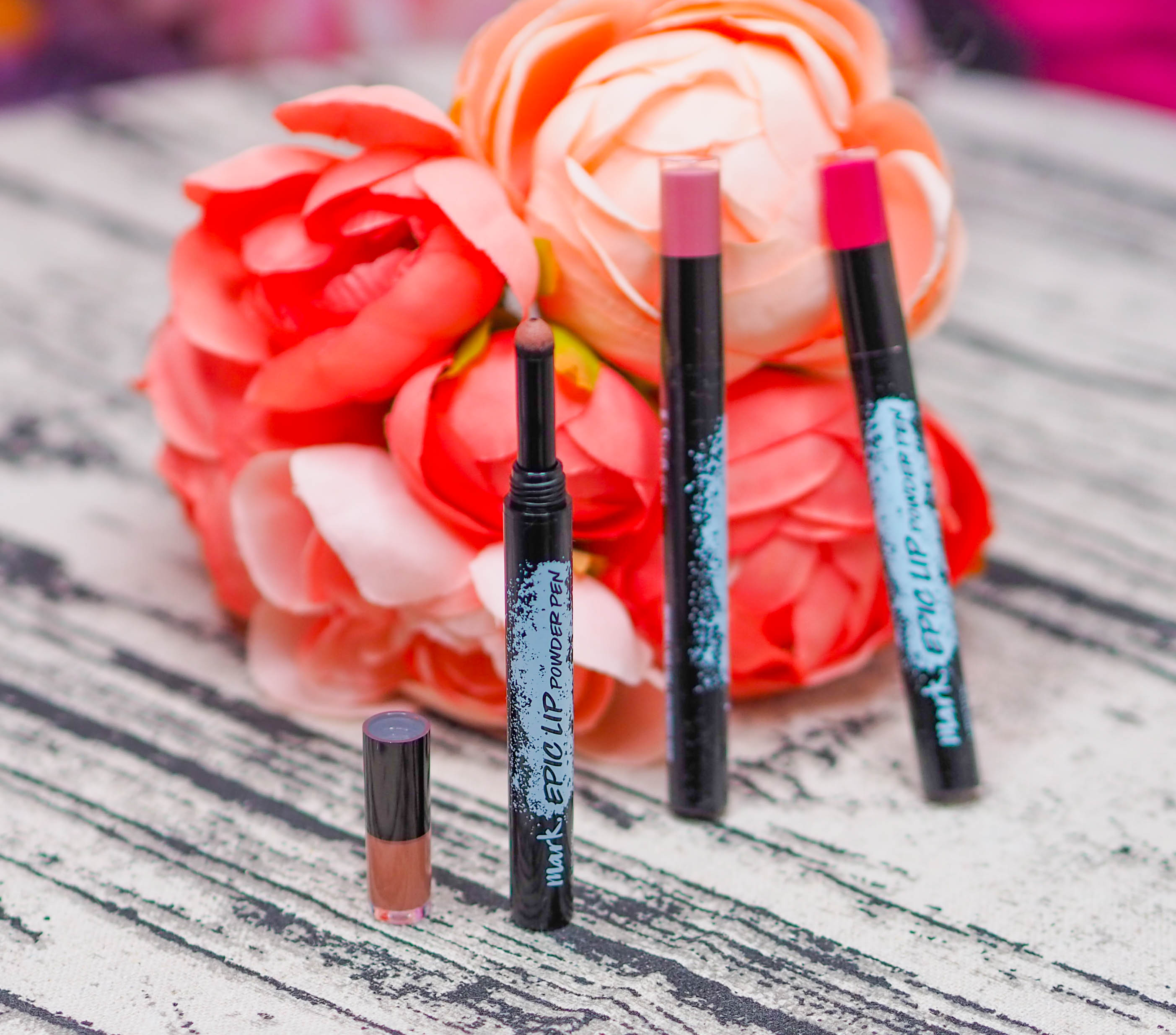Avon Mark Epic Lip Powders