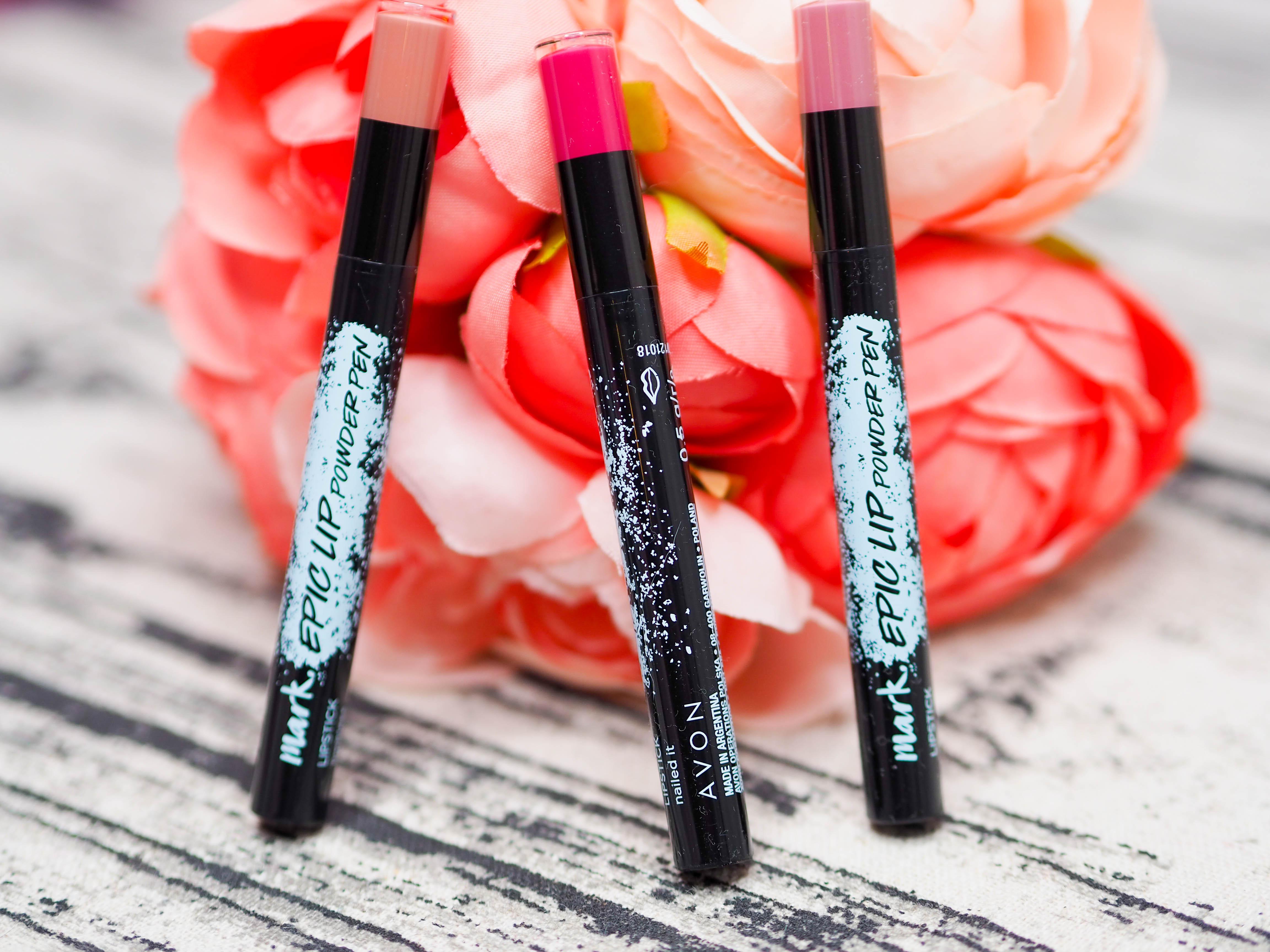 Avon Mark Epic Lip Powders