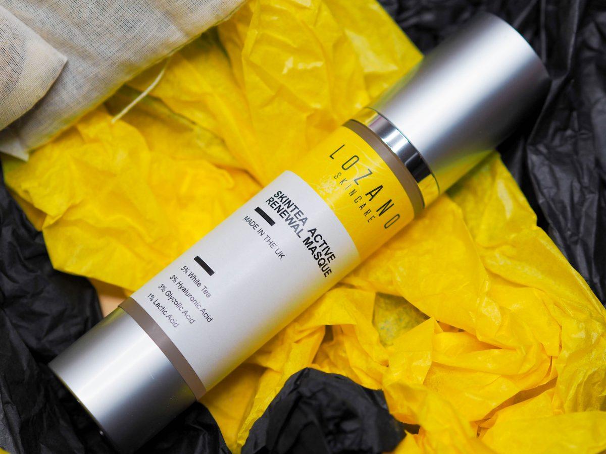 Lozano Skincare SkinTea Active Renewal Masque