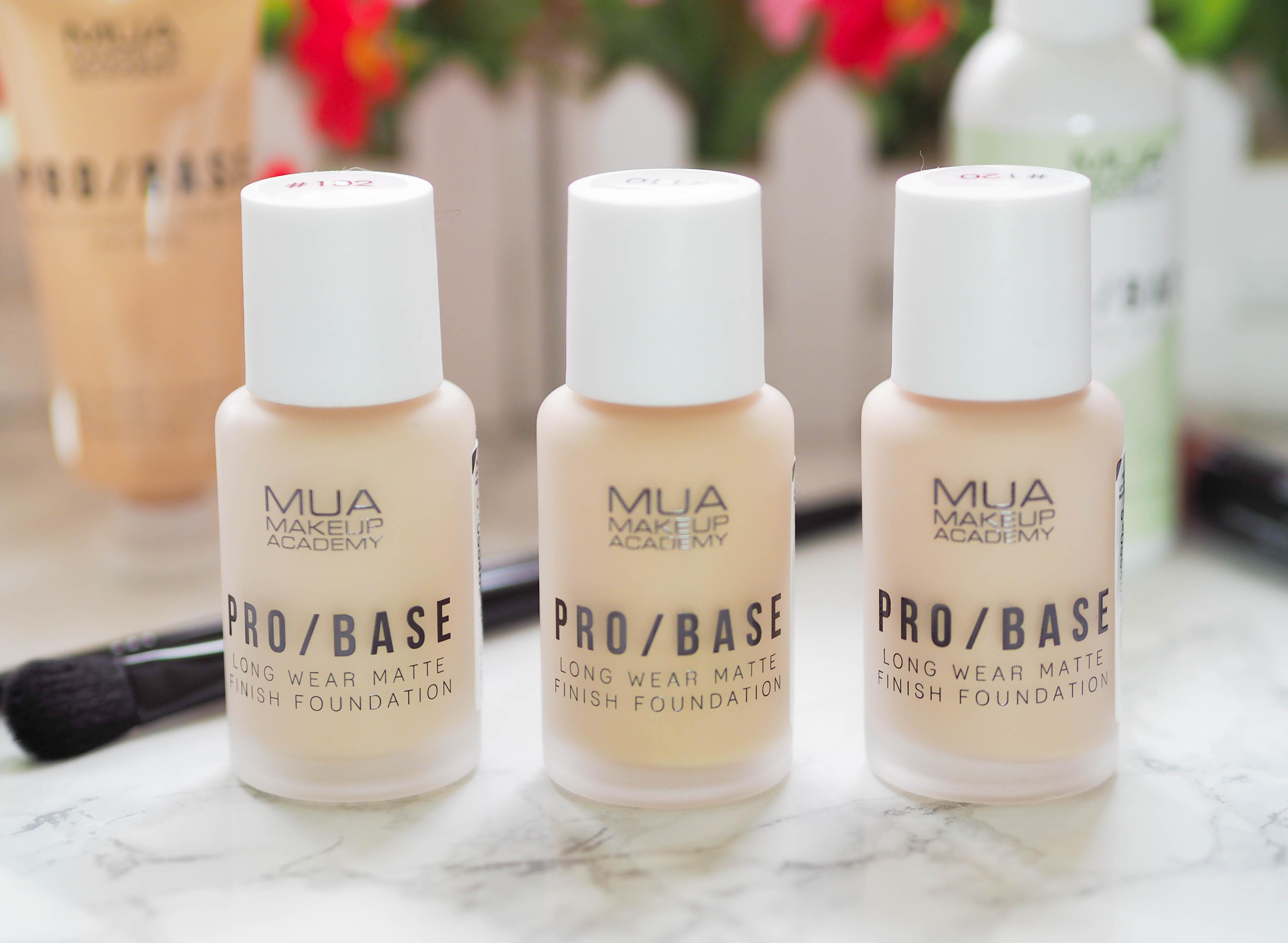 MUA Pro Base Long Wear Matte Finish Foundation