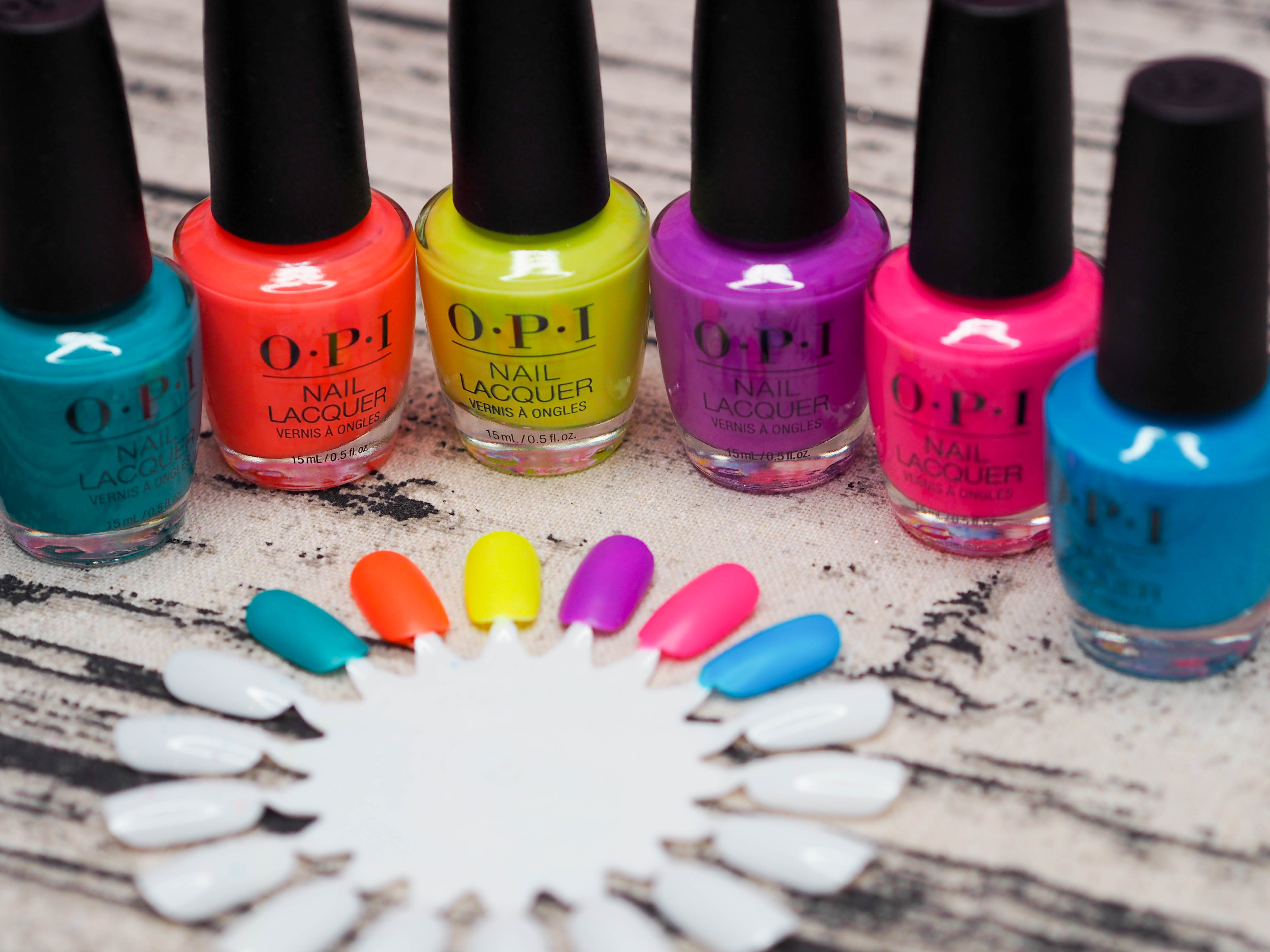 OPI Neon Collection 2019
