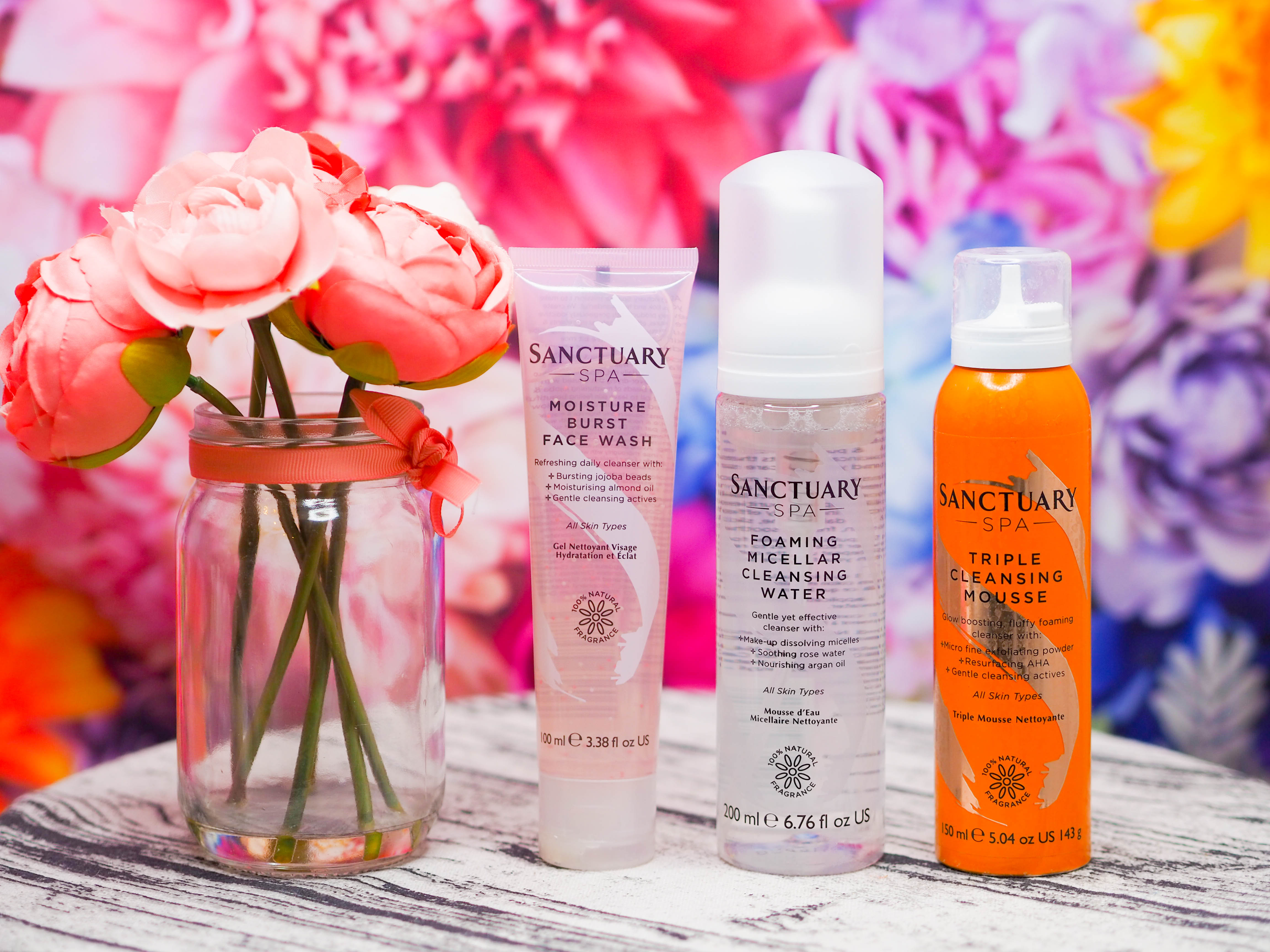 Sanctuary Spa Cleansers